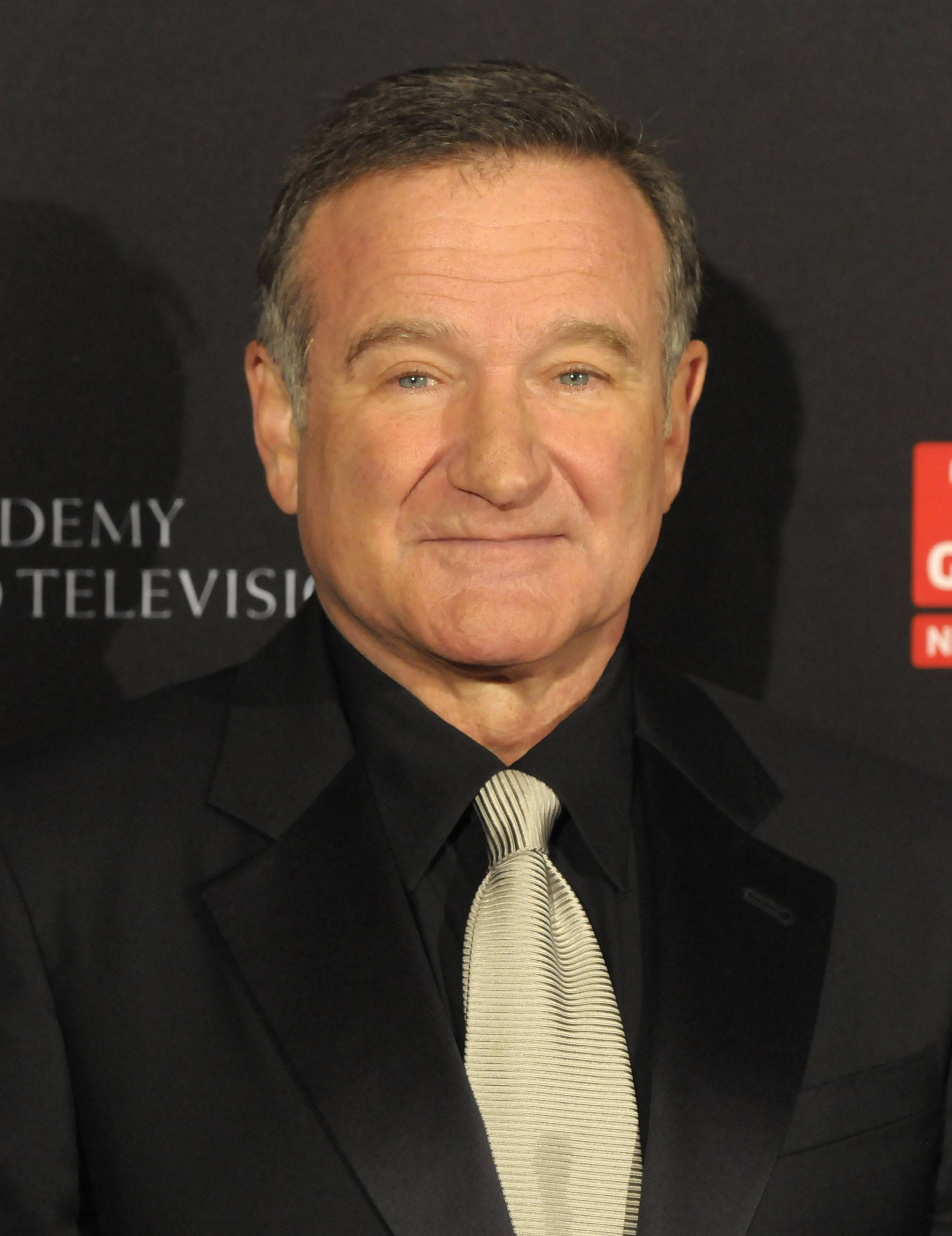 Actor Robin Williams arrives at the British Academy of Film and Television Arts Los Angeles Britannia Awards on Nov. 30, 2011, in Beverly Hills, Calif. .