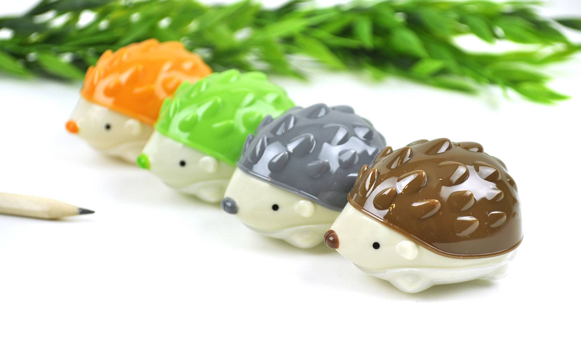 Hedgehog pencil sharpeners