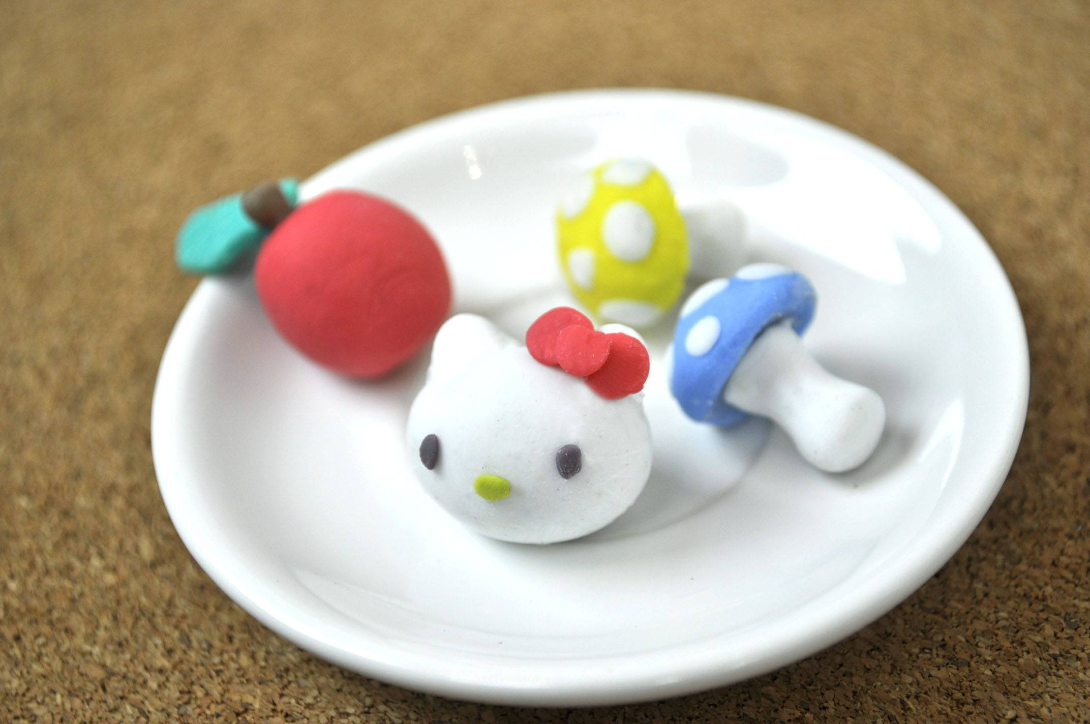 Create-Your-Own Clay Eraser Kawaii Collection