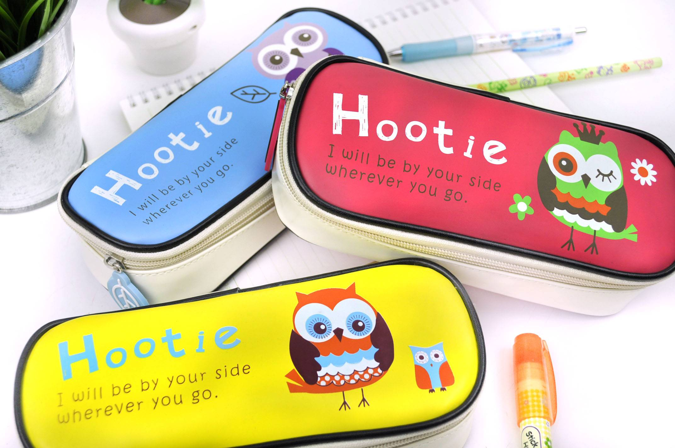 Hootie the Owl pencil cases