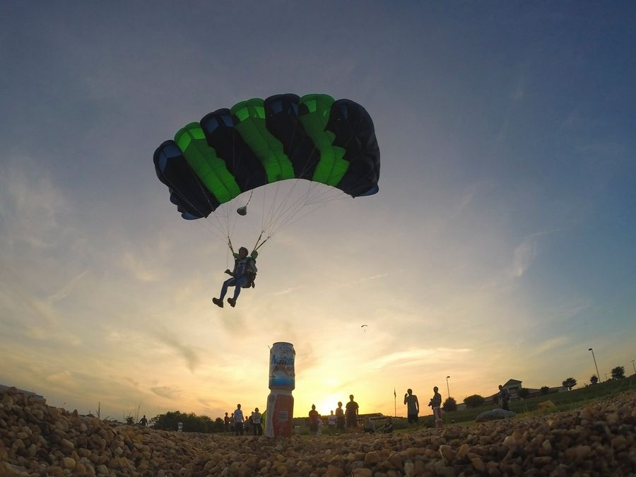 Sky diving: The thrills and the dangers