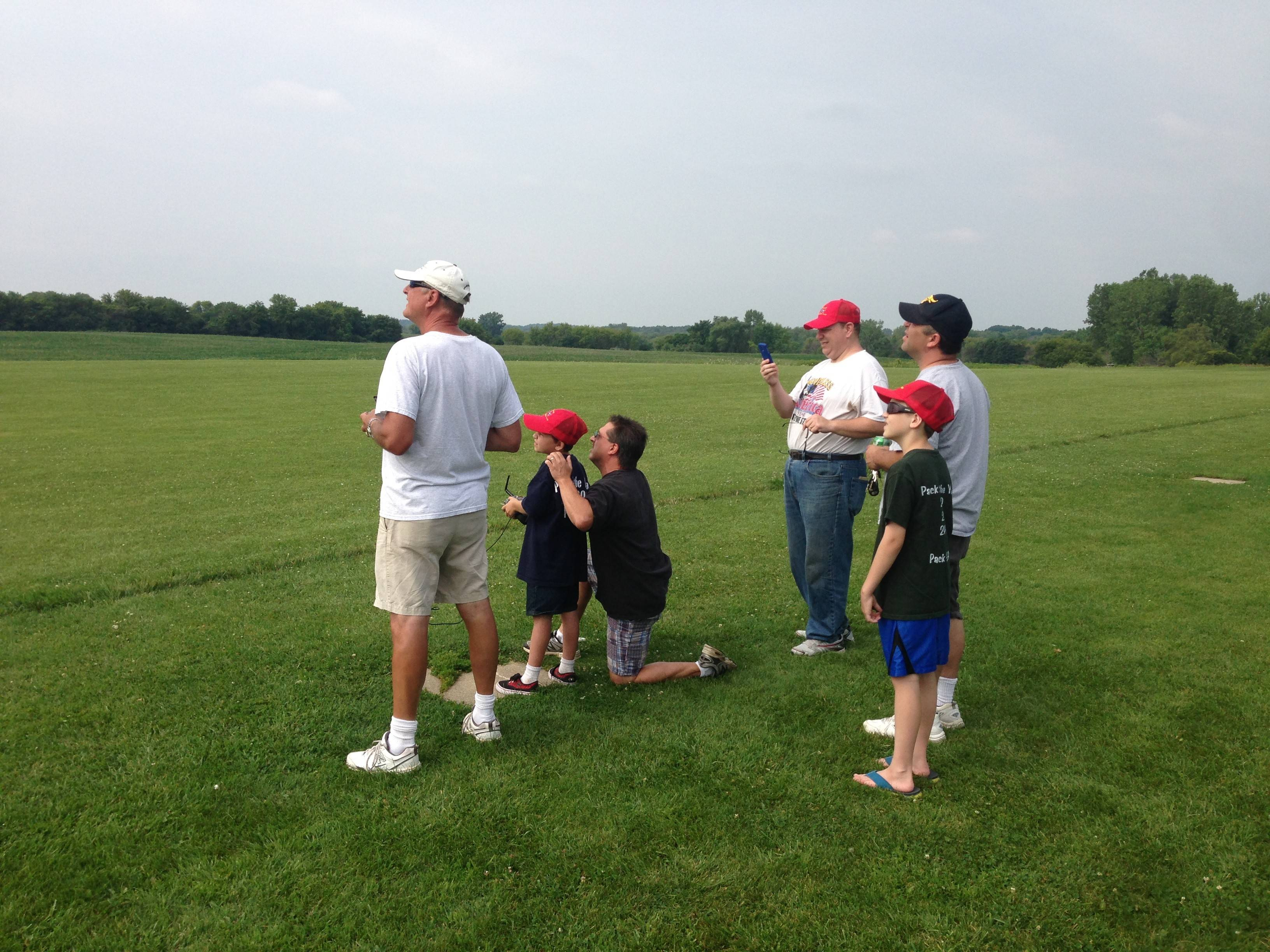 The Tri-Village RC Club hosts Cub Scout Troop 397 from Hoffman Estates and Schaumburg to a morning of flying radio control airplanes at the Poplar Creek Model Airplane Flying Field in Hoffman Estates on July 26.
