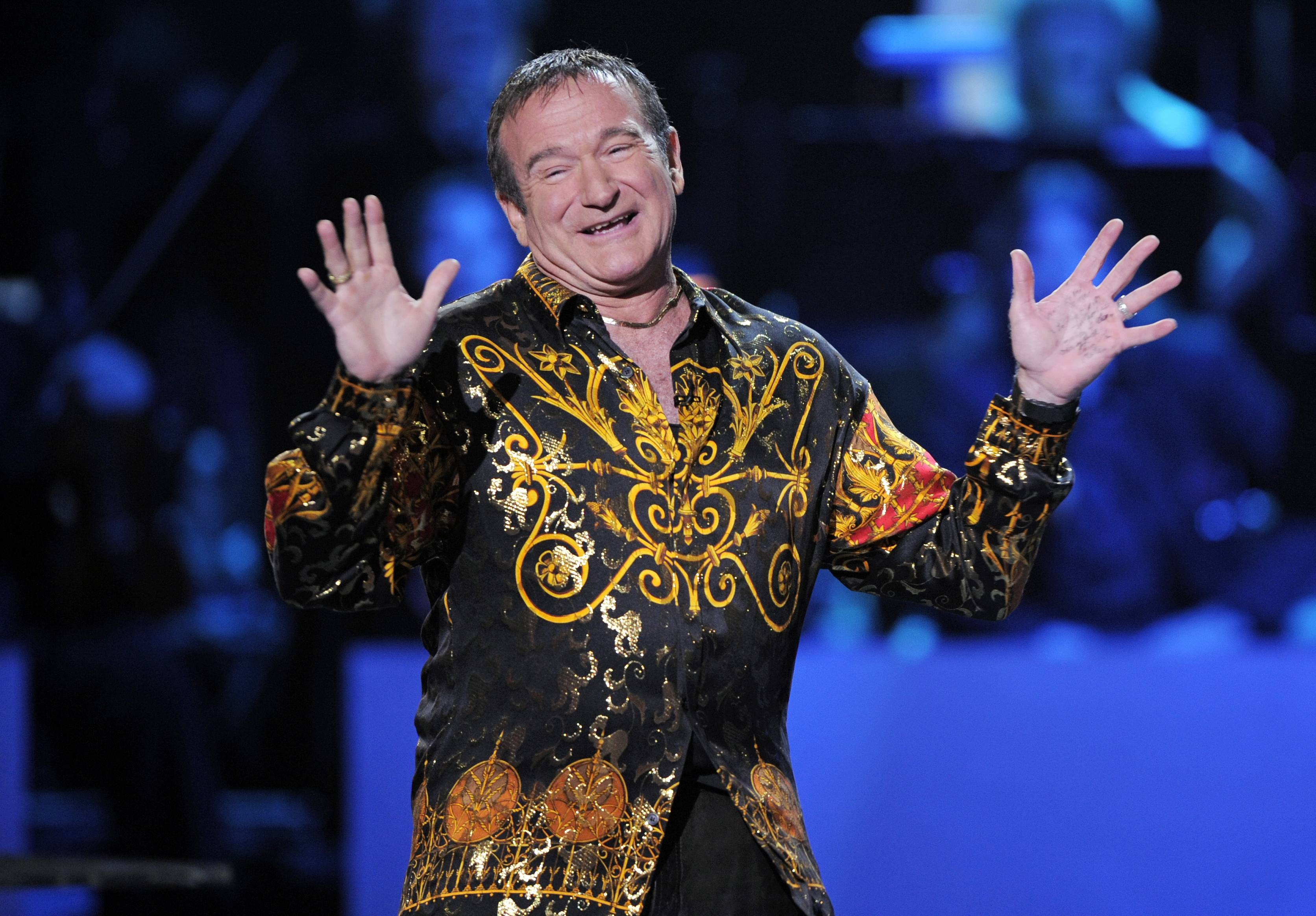 Was Robin Williams' humor a symptom of his disease?