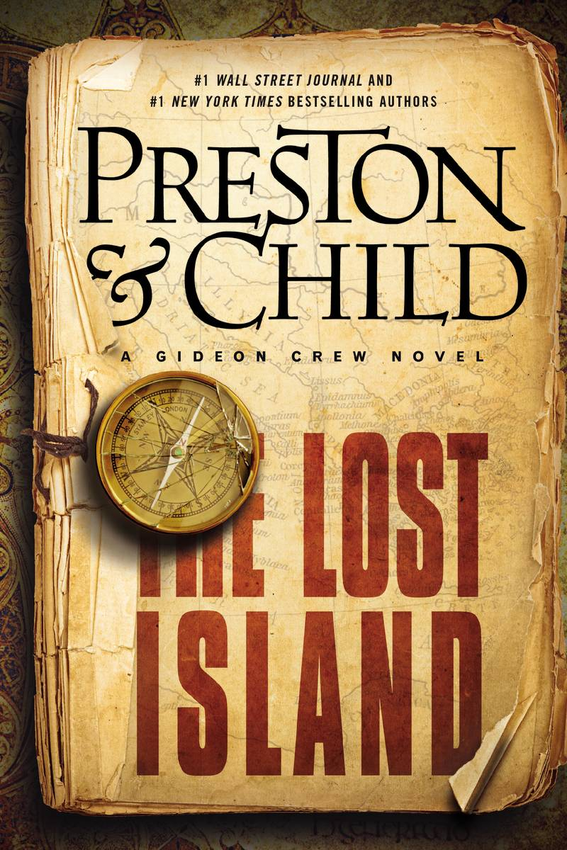"Douglas Preston and Lincoln Child balance suspense with ancient history in ""The Lost Island."""