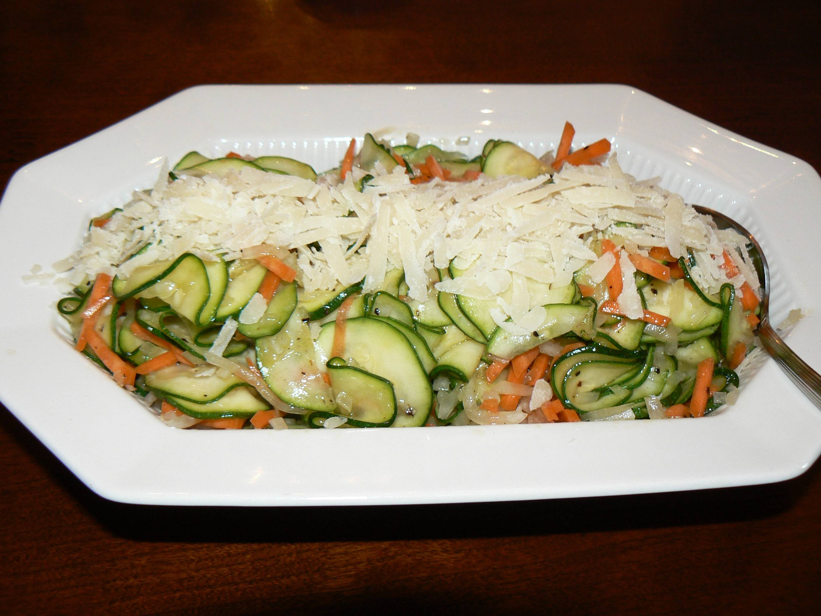 Simple Zucchini Summer Salad
