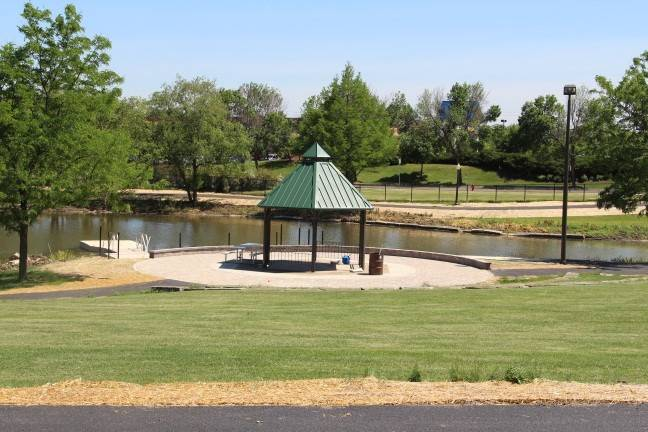 A gazebo and swimming pond are among the highlights of the new K-9 Dog Park set to open this fall in Schaumburg. Dog owners who want their pets to enjoy the park must first secure one of 500 memberships available beginning Sept. 4.