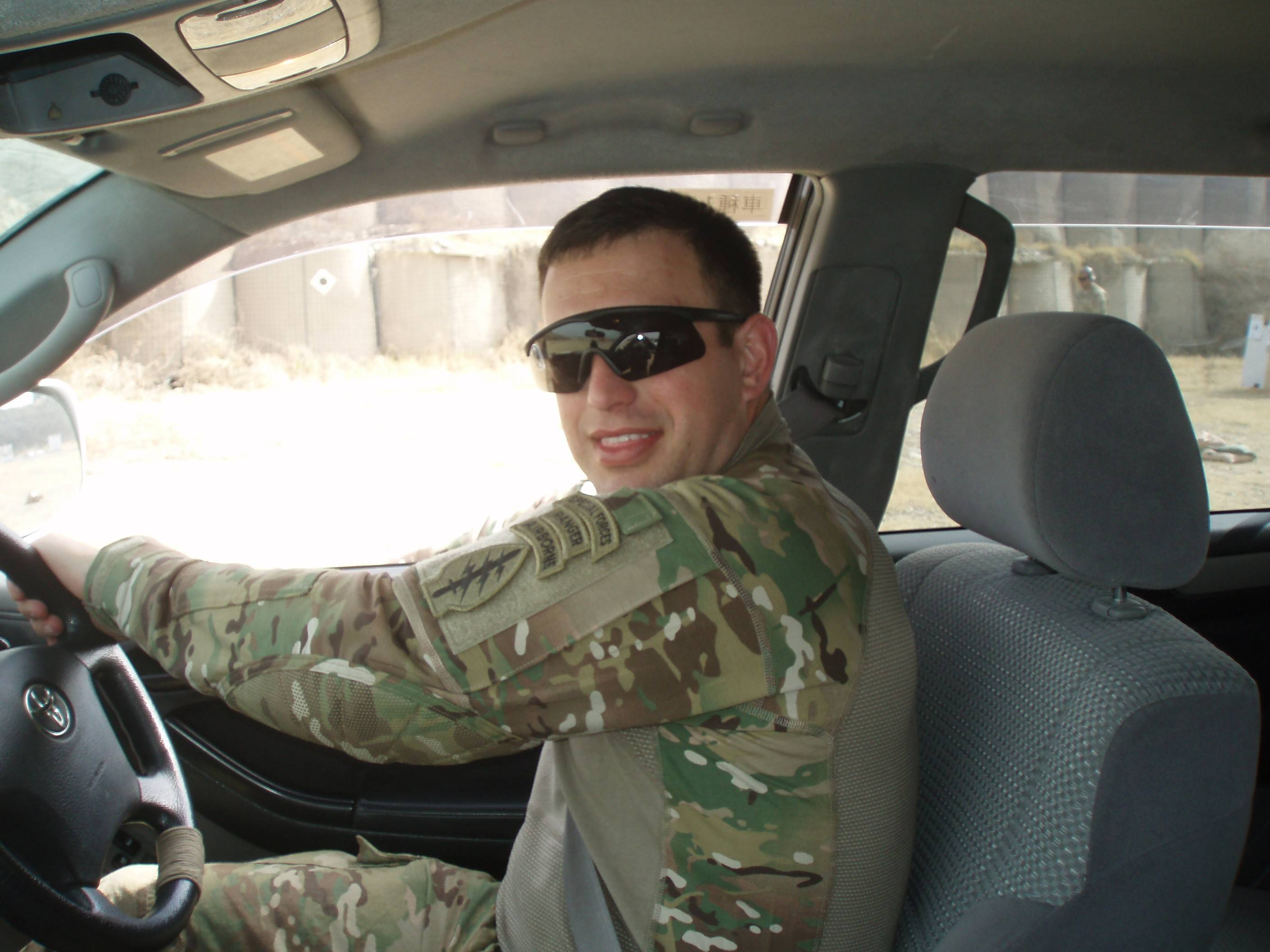 Commander of a Special Forces unit in Afghanistan, Breg Hughes was wounded when his vehicle was hit by a roadside bomb.
