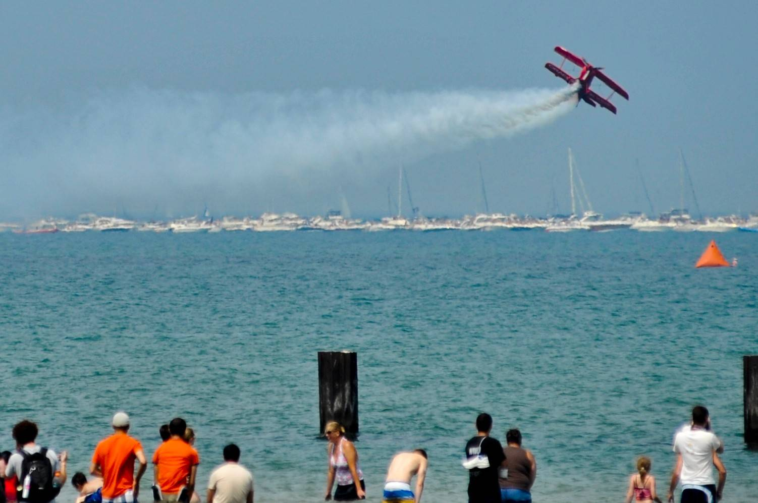 Sean D. Tucker and Team Oracle will soar over Lake Michigan this weekend at the Chicago Air and Water show.