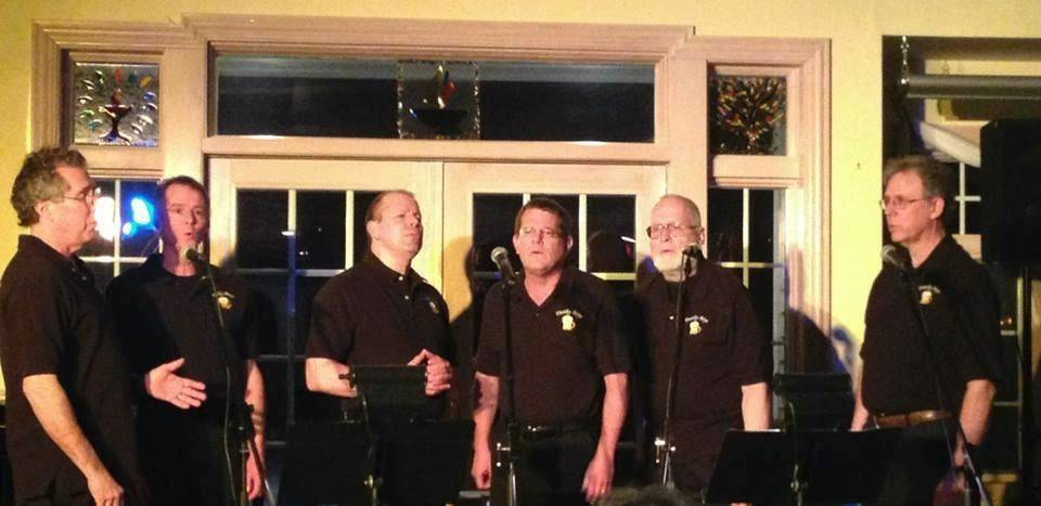 Members of the Frothy Boys entertain at the next Open Mic and Jam Night Friday, Aug. 15 at Haystacks Coffee House in McHenry.