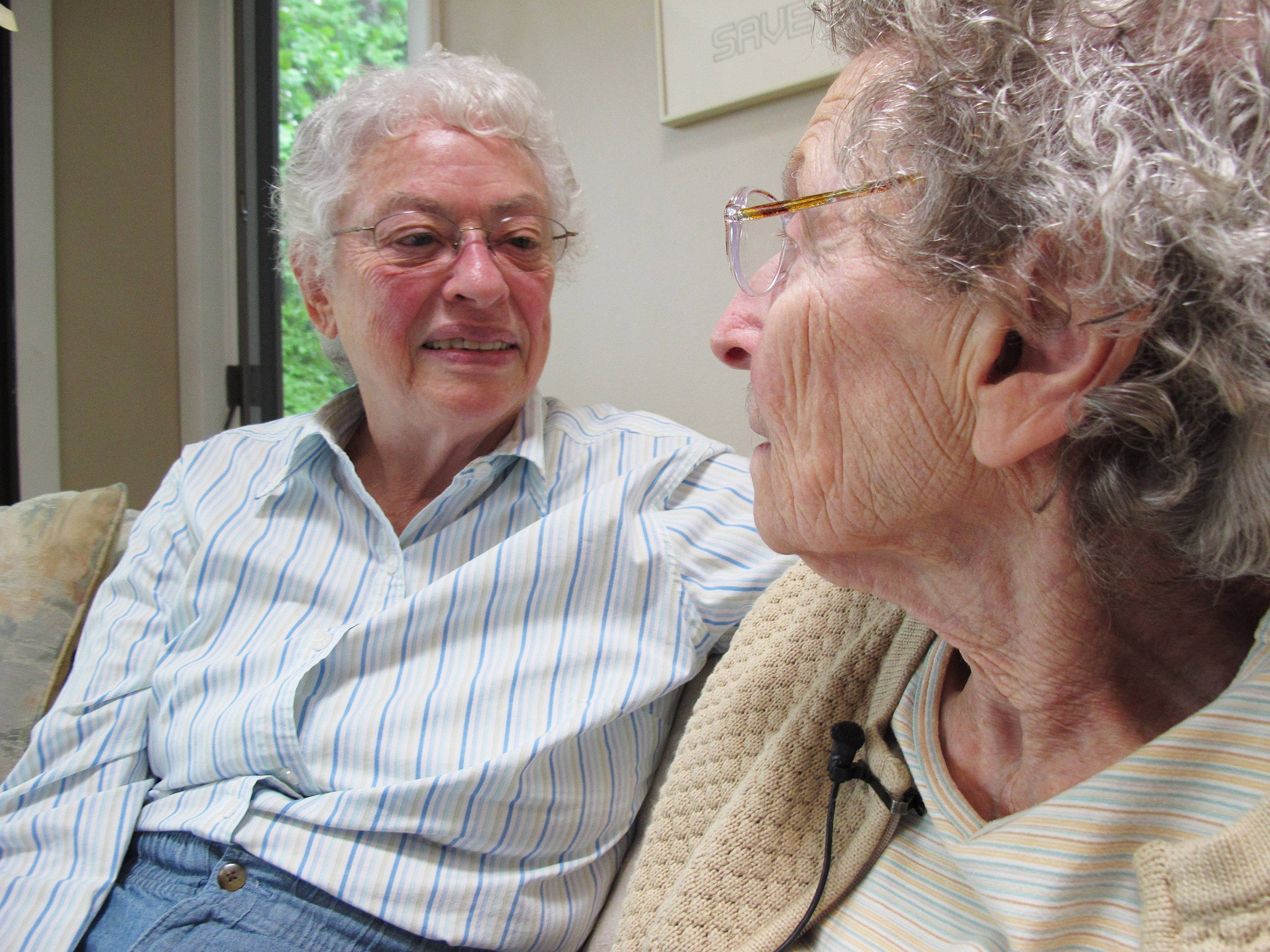 Together 48 years, couple fights NC marriage ban