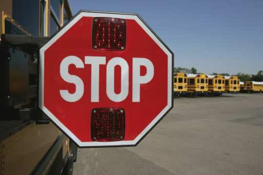 Palatine Township Elementary District 15 has hired a maker of red-light cameras to install a device that captures drivers ignoring a stop sign off school buses.