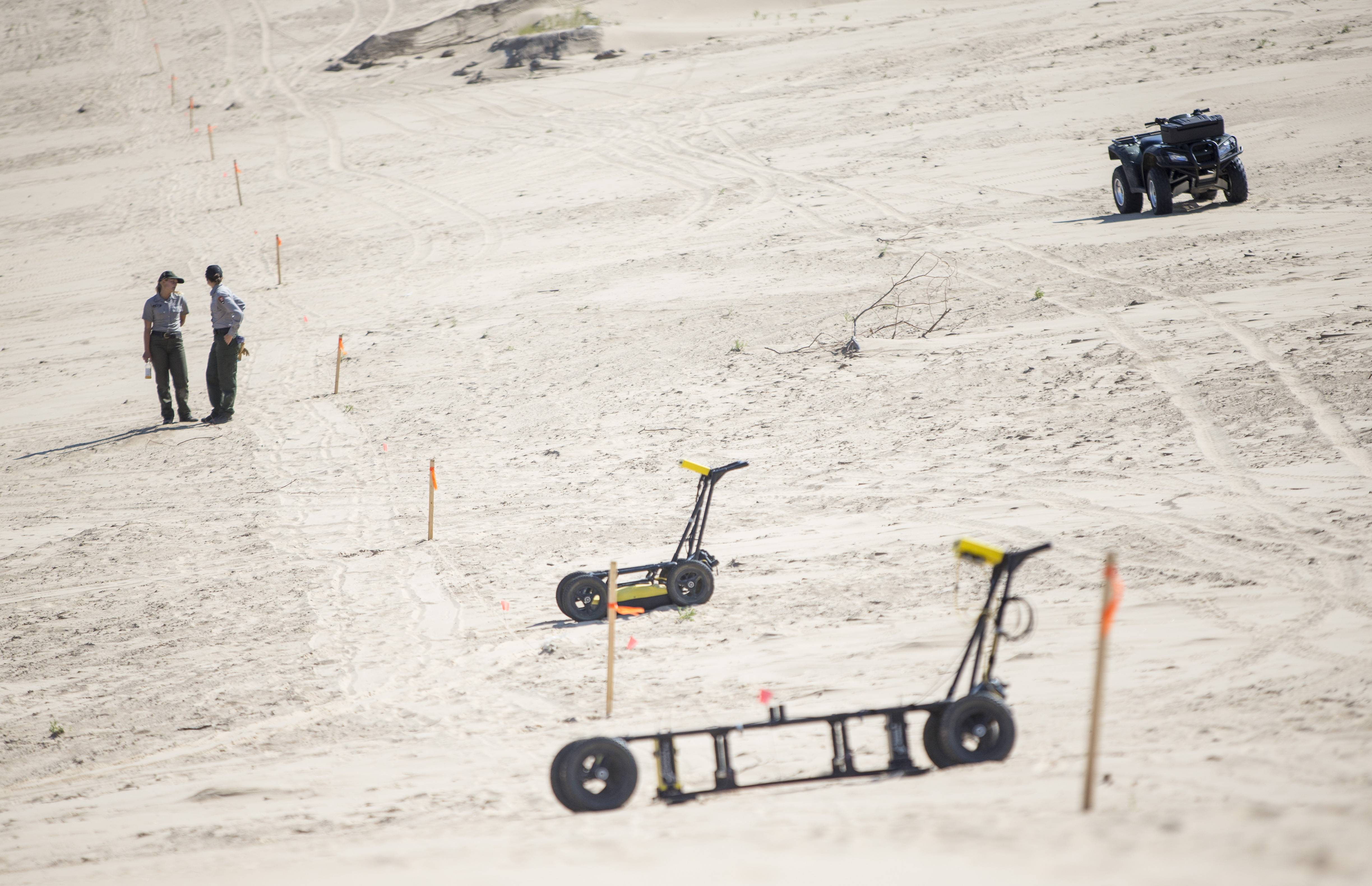 Mount Baldy has been closed since an Illinois boy became buried in the popular sand dune.