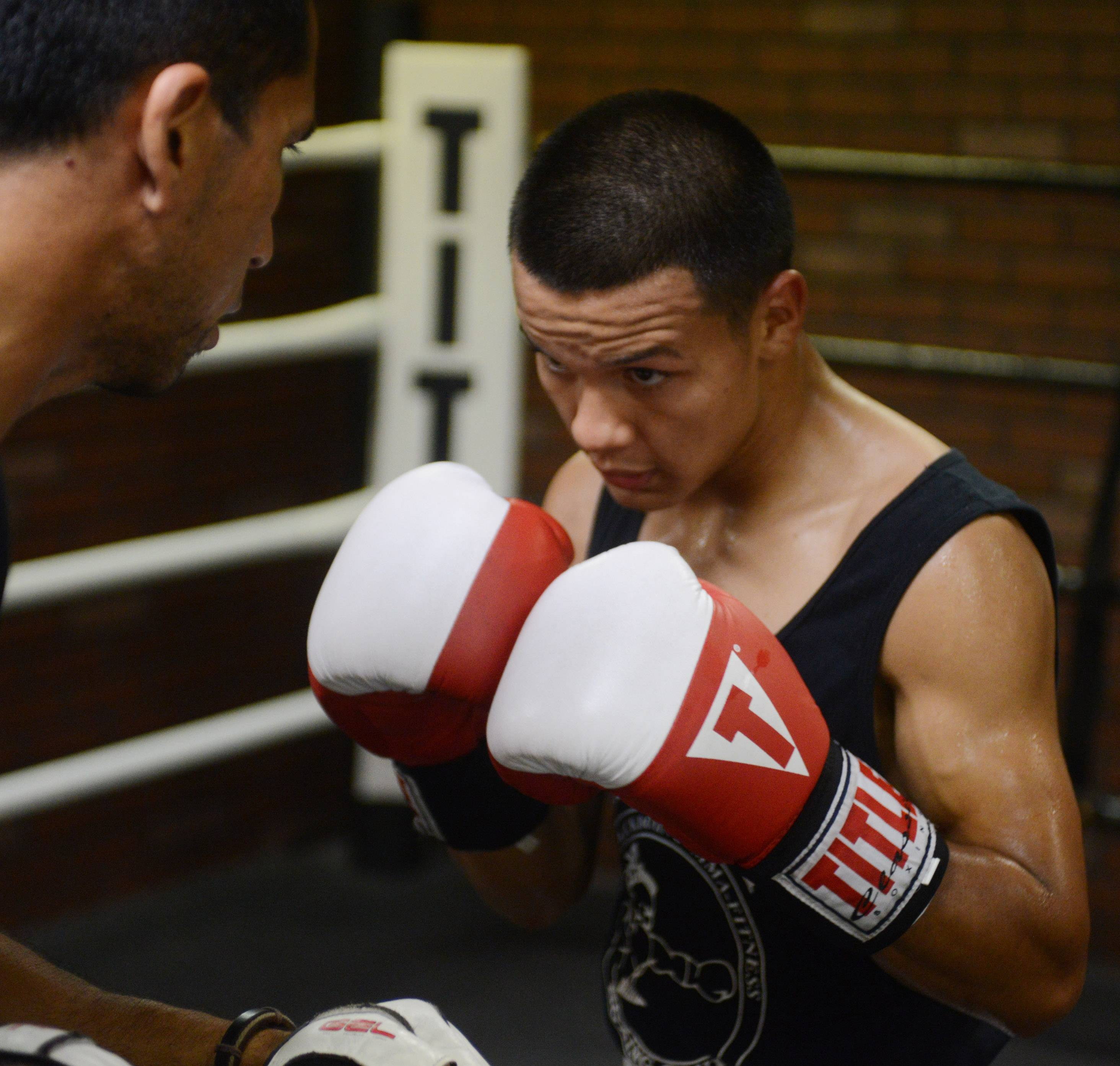 Javier Rivera of Palatine has claimed a Golden Gloves and two Power Gloves championships at just 19 years old. Javier, who hopes to become a professional fighter, credits much of his success to his coach, Pedro Calla, at Rumi Maki Boxing and Fitness Club in Palatine.