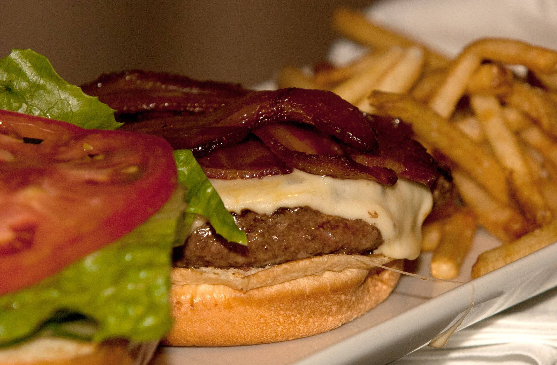 Neat Kitchen & Bar in Westmont emphasizes flavorful takes on bar favorites, including the bacon cheeseburger.