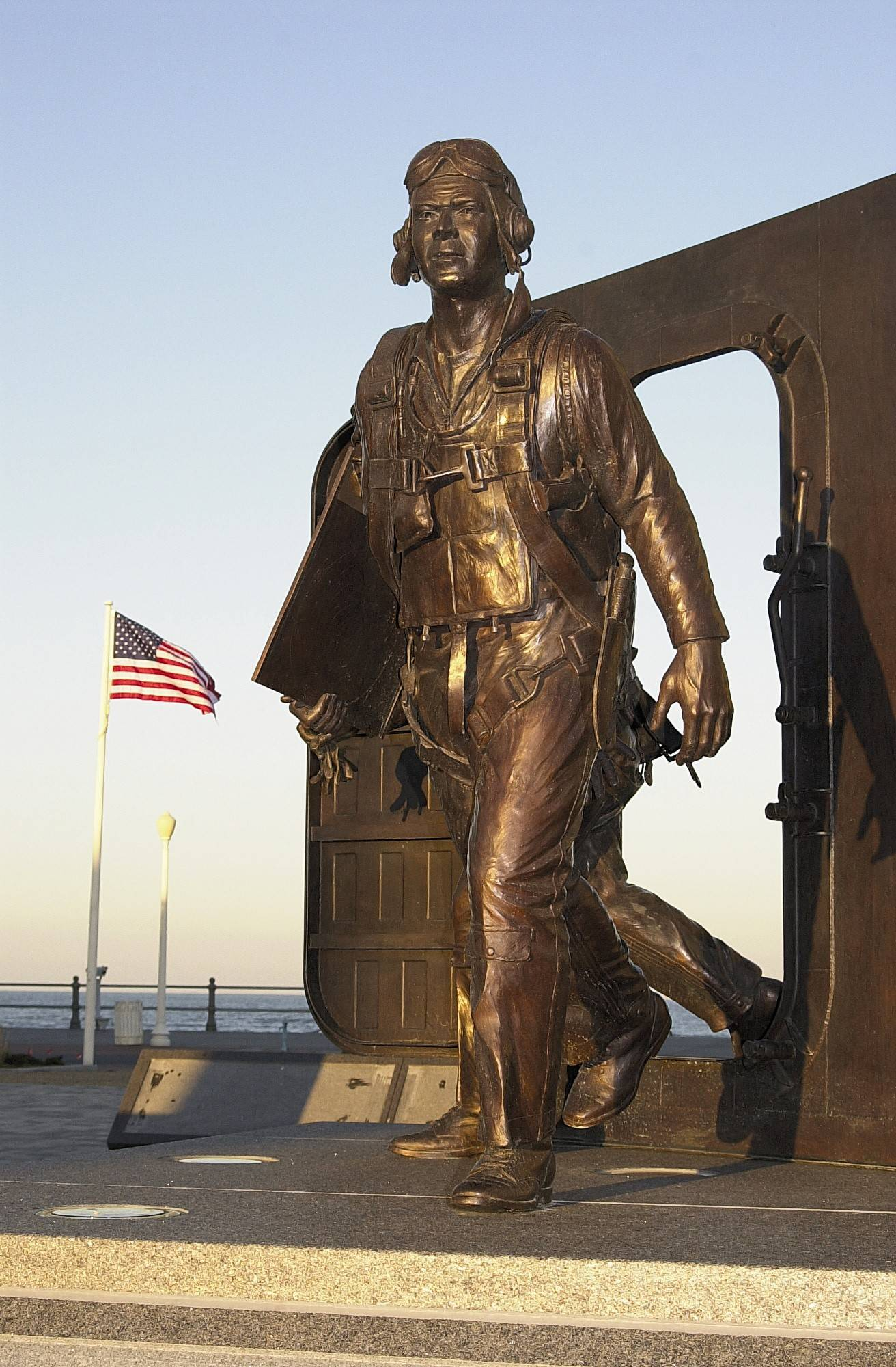 The Naval Aviation Monument Park, just off the boardwalk in Virginia Beach, Va., is a monument to the history of naval aviation. Plus, it's free to visit.