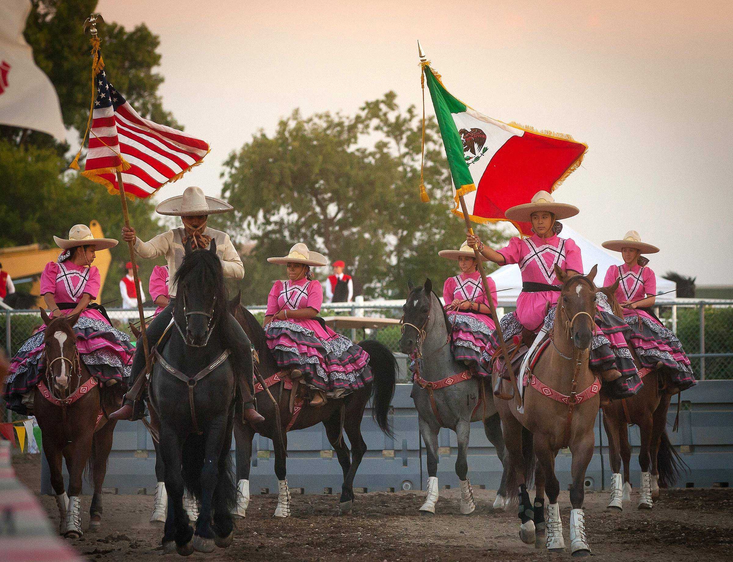 Enjoy the pageantry of the multicultural, multimedia Festival of the Horse and Drum this weekend in St. Charles.