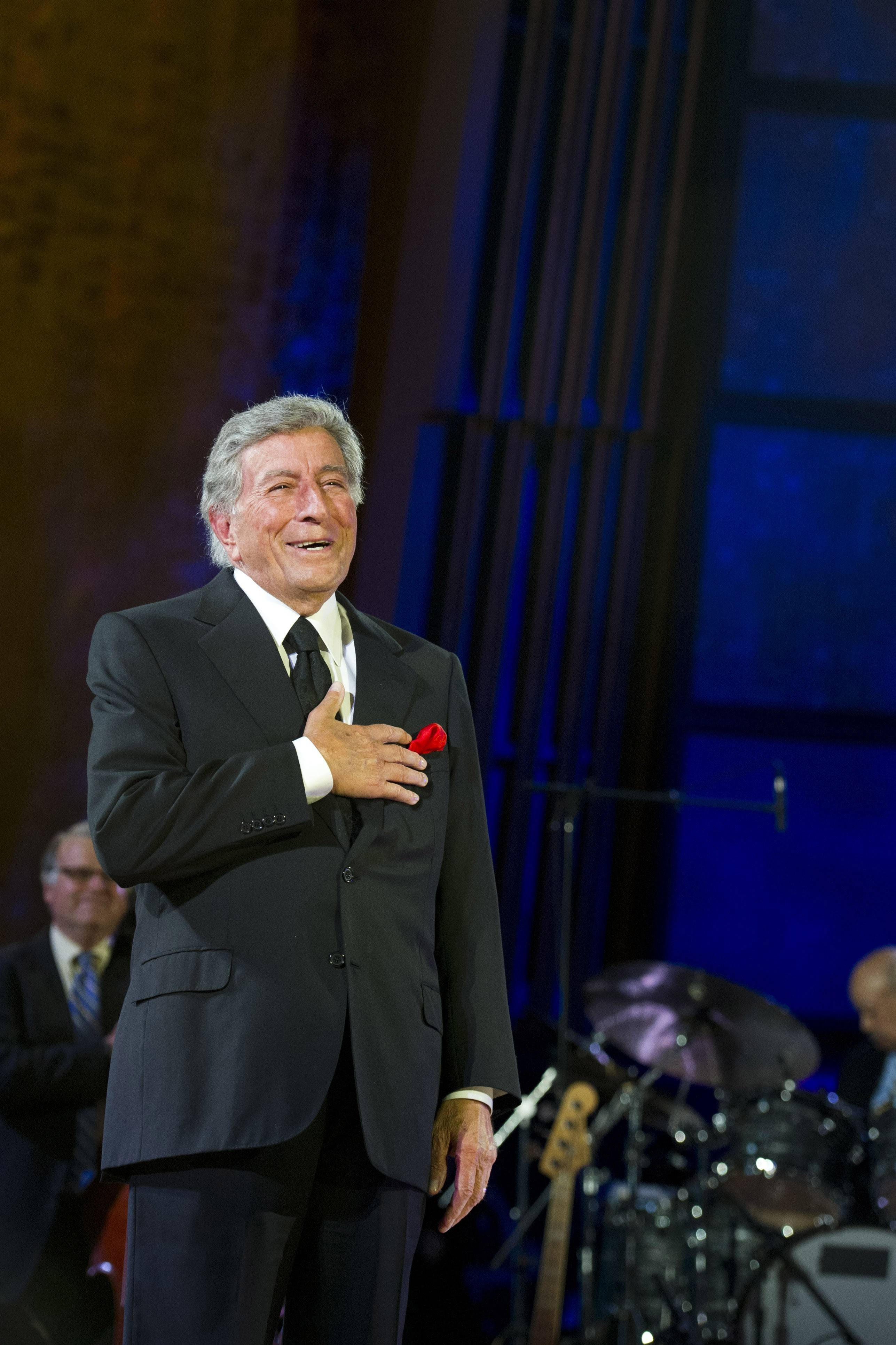 Tony Bennett performs Saturday at Ravinia.