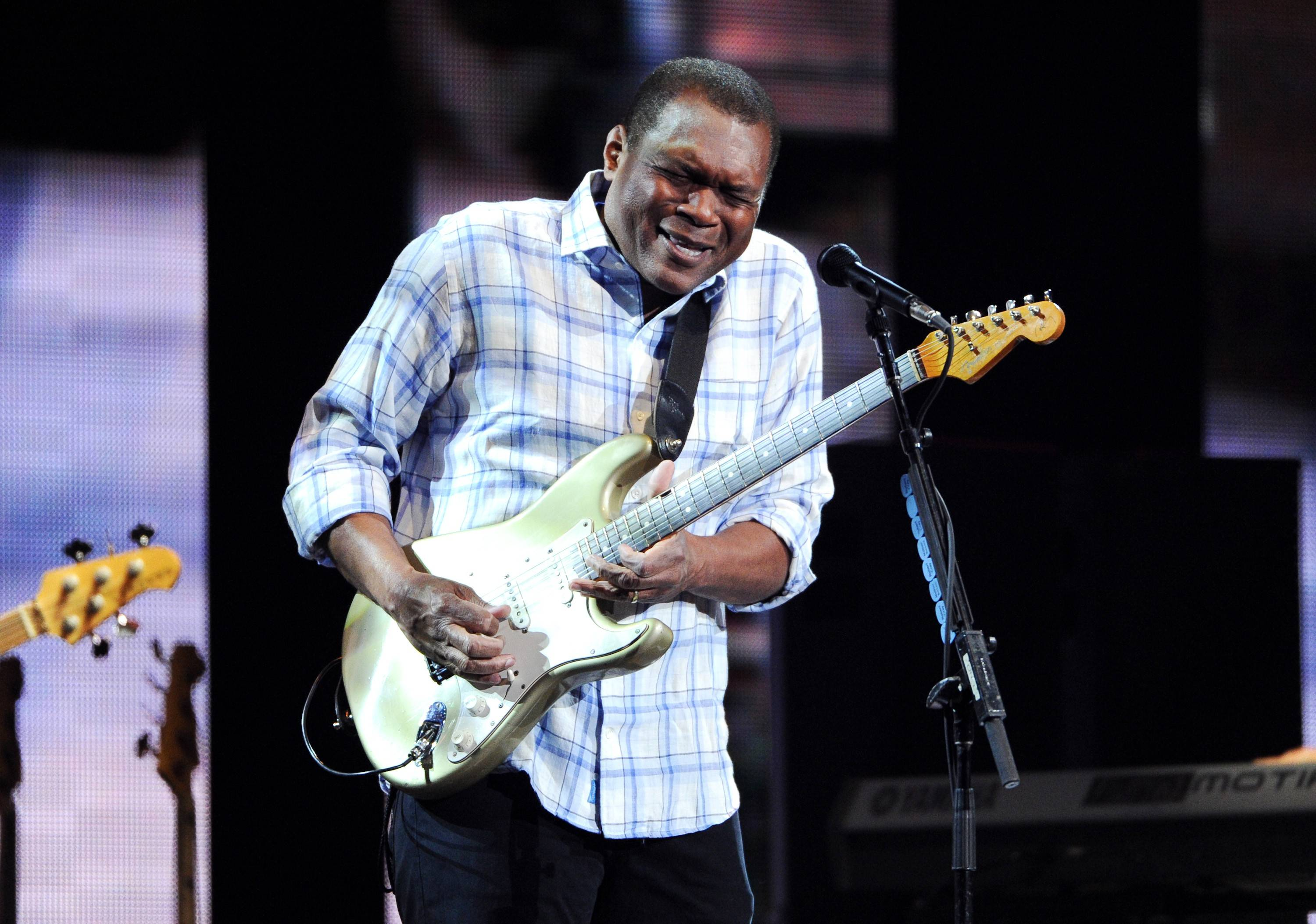 Guitarist Robert Cray brings his Robert Cray Band to perform in October at North Central College in Naperville.
