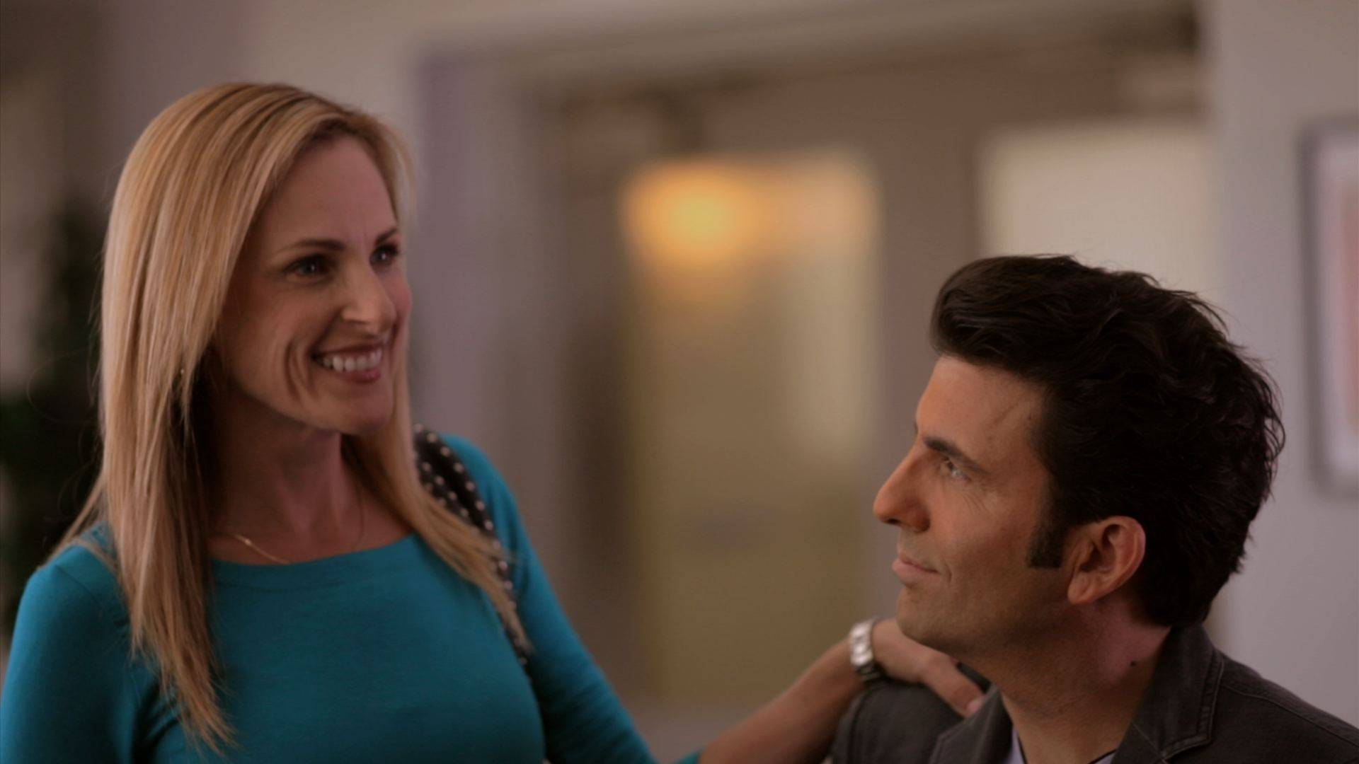 "Academy Award winning actress Marlee Matlin and John Maucere star in ""No Ordinary Hero: The SuperDeafy Movie."""