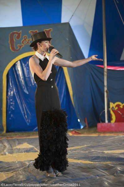 Ringmistress Simone will lead the Culpepper & Merriweather Circus Aug. 18 in Hampshire.