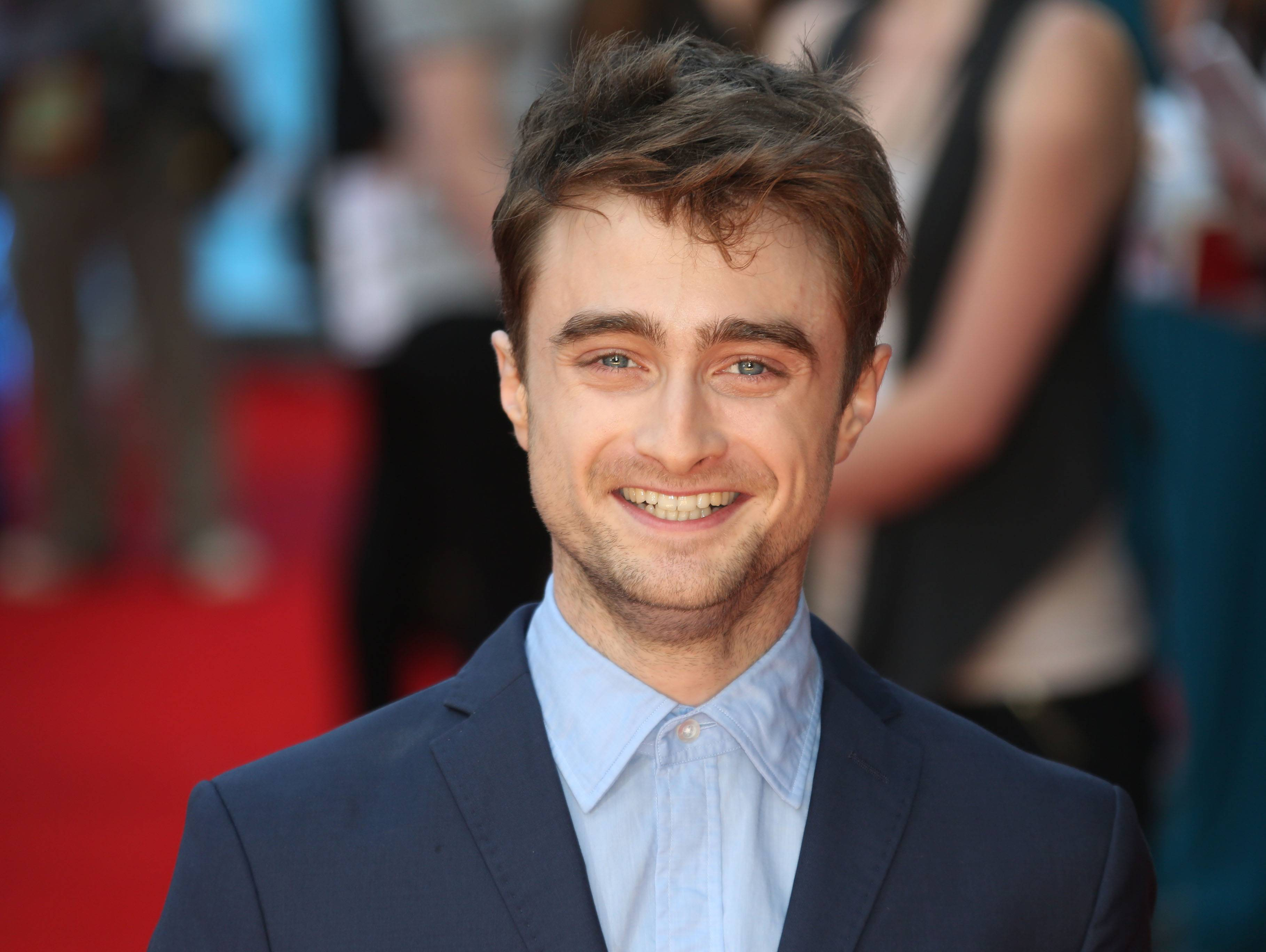British actor Daniel Radcliffe doesn't see what all the fuss is about when it comes to interest in actors.