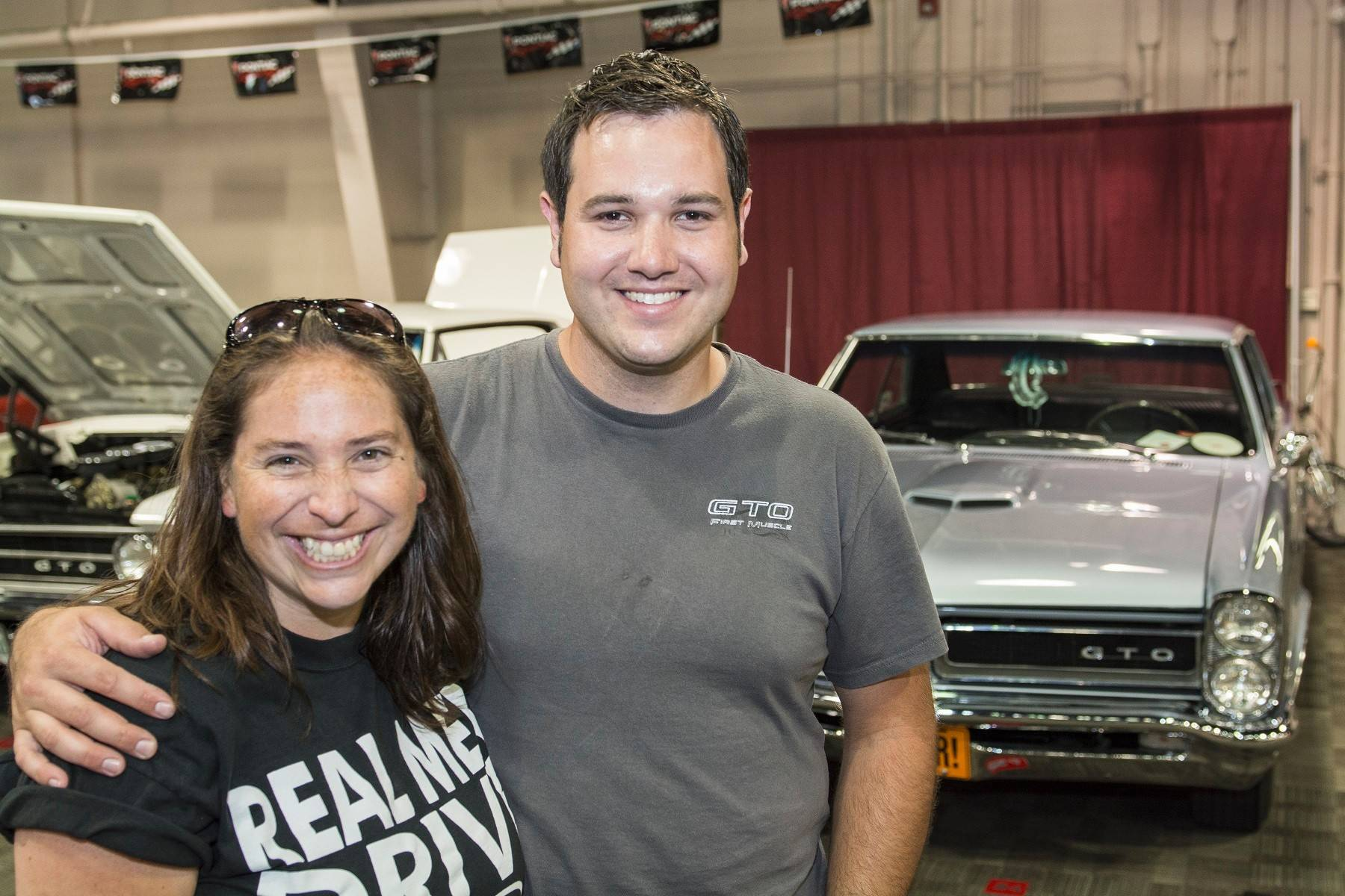 Marvin and Kim Minarich of Morris say their GTO helped bring them together.