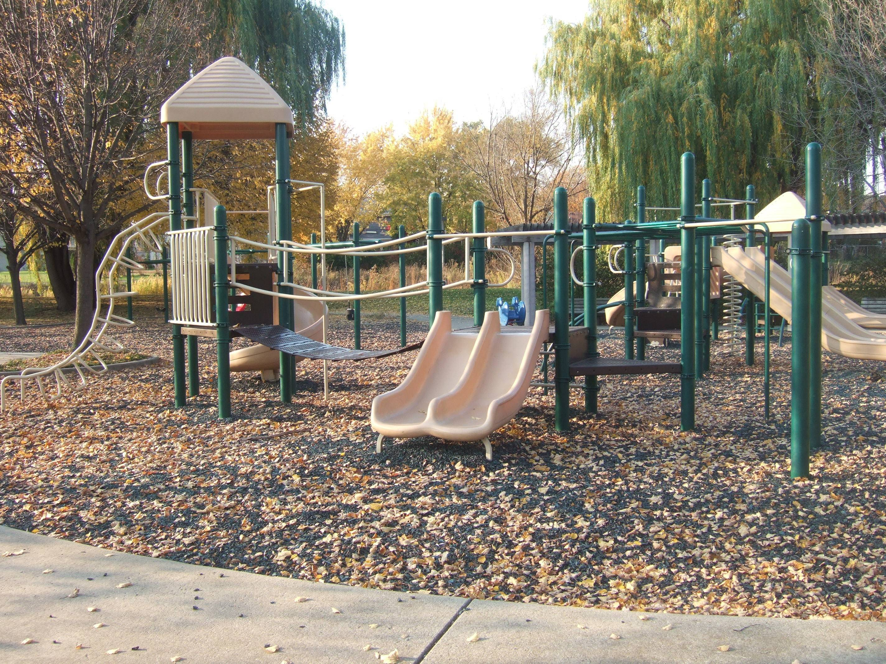 New playground equipment will be installed at Stone Fence Farm Park in Vernon Hills.