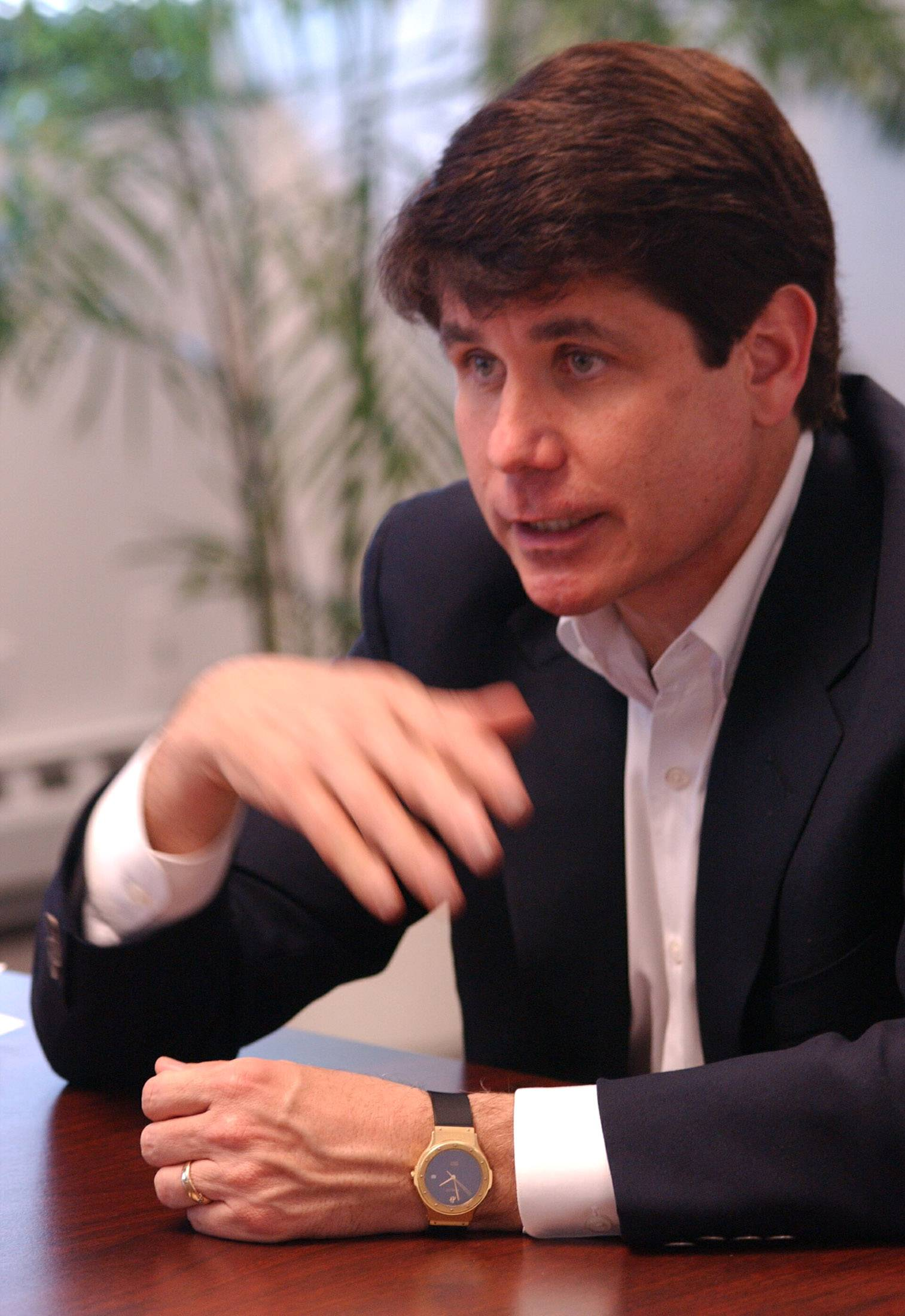Former Gov. Rod Blagojevich sought a $100,000 campaign donation from racetrack executive John Johnston before he signed an extension of a state gambling law in 2008. Johnston never paid the $100,000 and has denied agreeing to pay it.