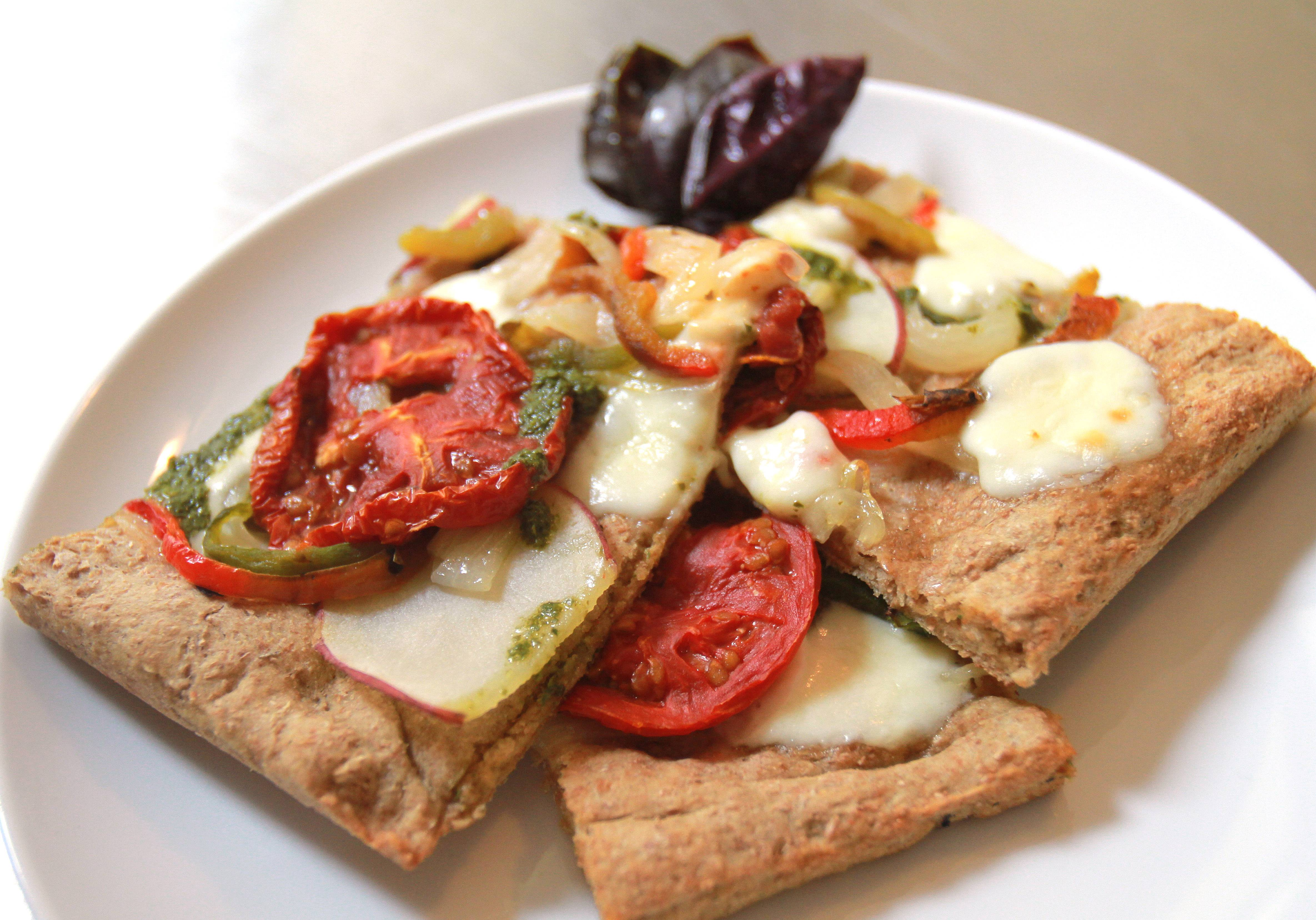 Whole Wheat Flatbread Pizza