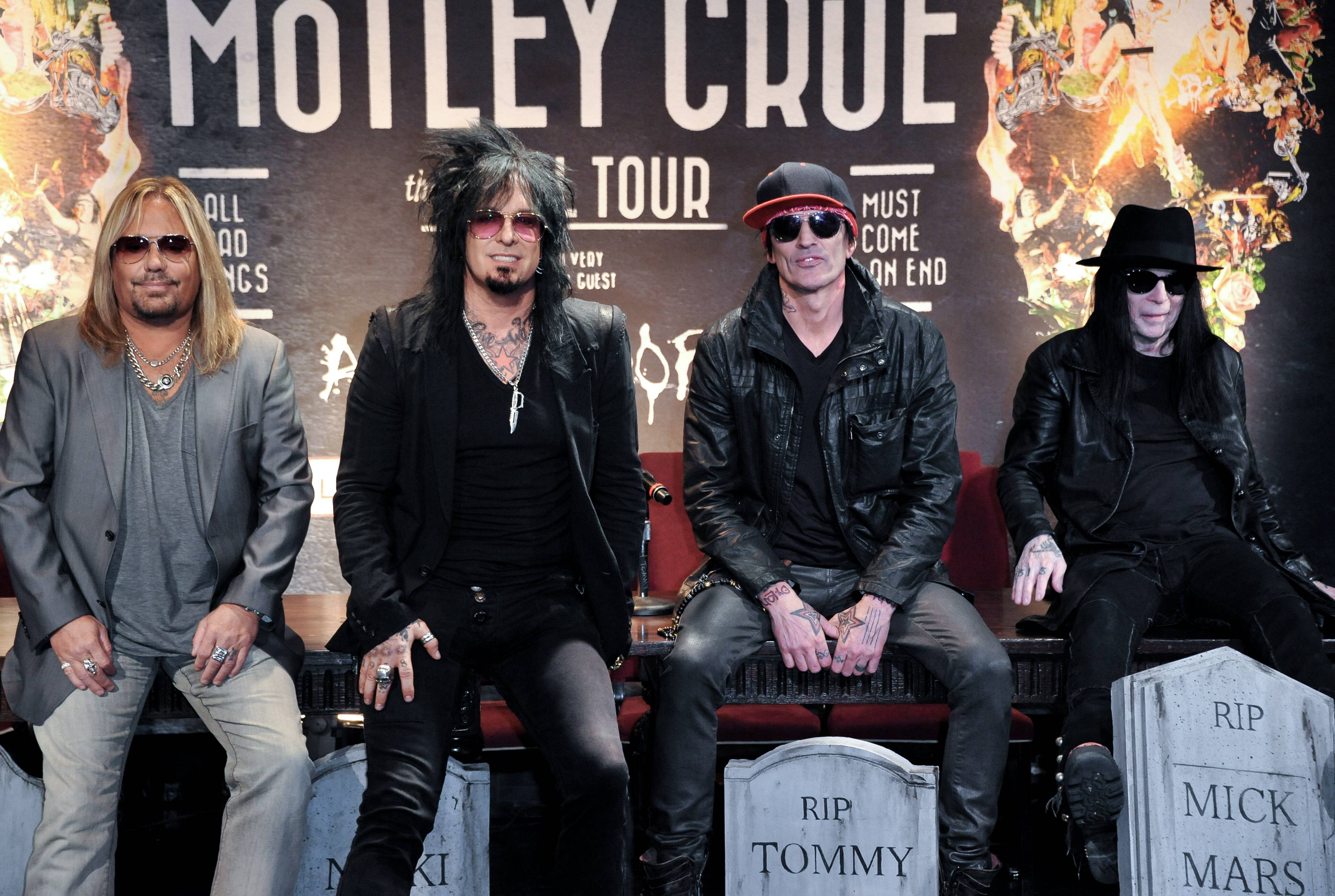 "Motley Crue -- Vince Neil, left, Nikki Sixx, Tommy Lee and Mick Mars -- think country artists including Rascal Flatts, Florida Georgia Line and Brantley Gilbert, who performed on the 15-song album ""A Tribute to Motley Crue,"" have a lot more in common with hard rockers than some might think. The album was released Tuesday."