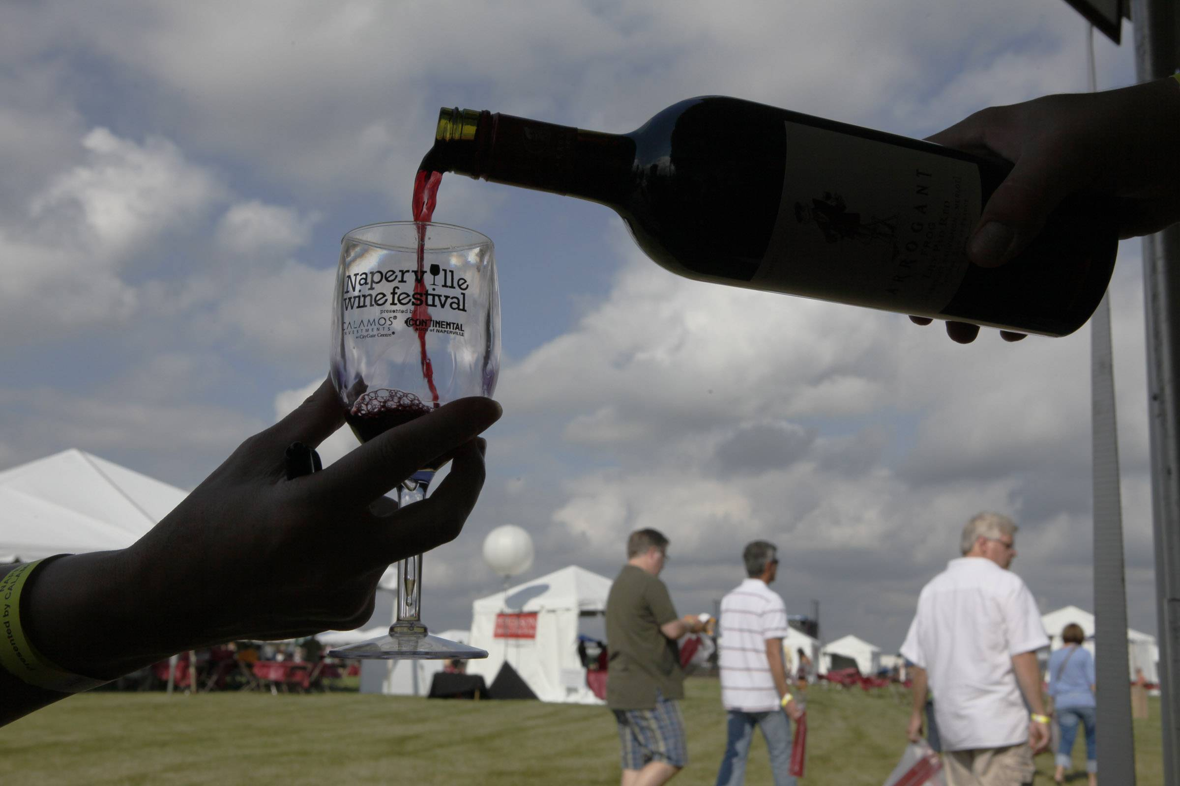 At the 12th annual Naperville Wine Festival Friday and Saturday, Aug. 22 and 23, 59 wineries will offer samples of roughly 350 wines.