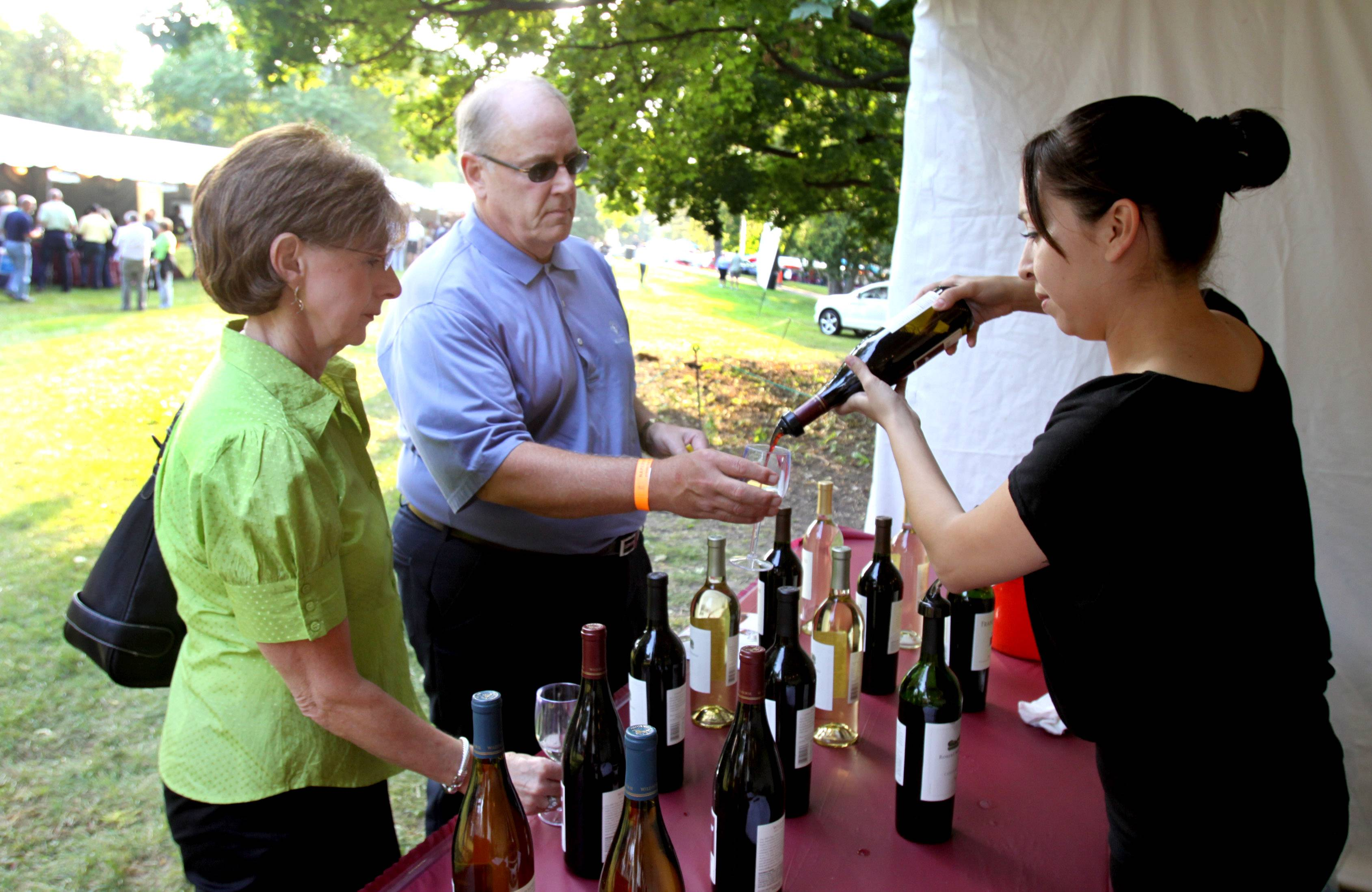 Visitors to the 12th annual Naperville Wine Festival can check out the booths of 59 vendors to taste new styles and learn about wineries. The event runs 4 to 10 p.m. Friday, Aug. 22, and 3 to 10 p.m. Saturday, Aug. 23, at CityGate Centre.