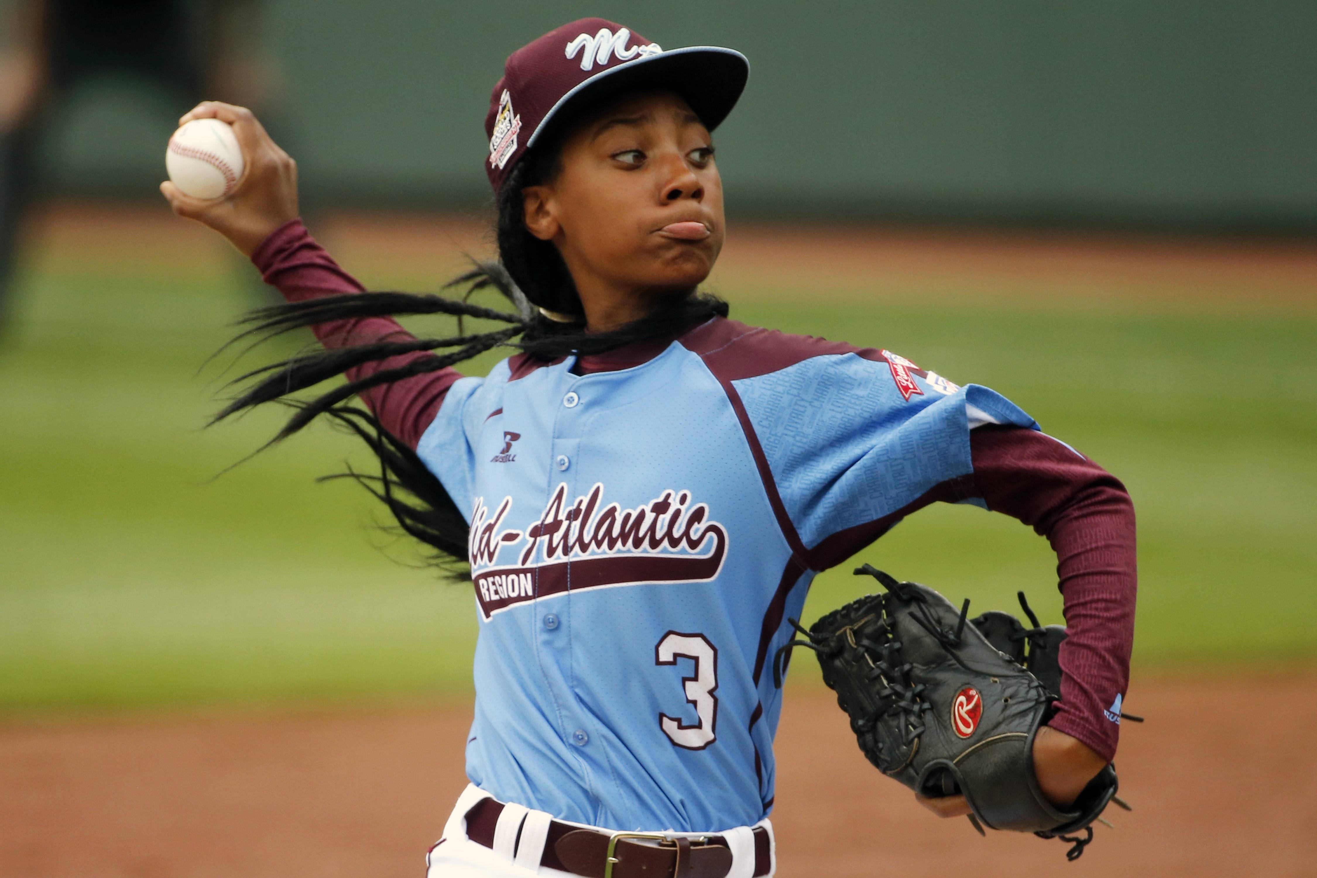 Pennsylvania's  Mo'ne Davis pitched a shutout last Friday for her team at the Little League World Series tournament in South Williamsport, Pa. Davis is expected to start Wednesday as the Taney team tries to reach the semifinals.