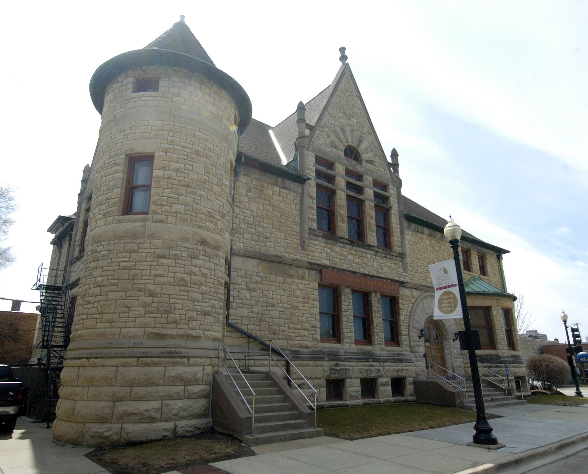 The DuPage County Historical Museum building was erected in 1891 at 102 E. Wesley St. in Wheaton and served as the community's library before the museum opened in 1967.