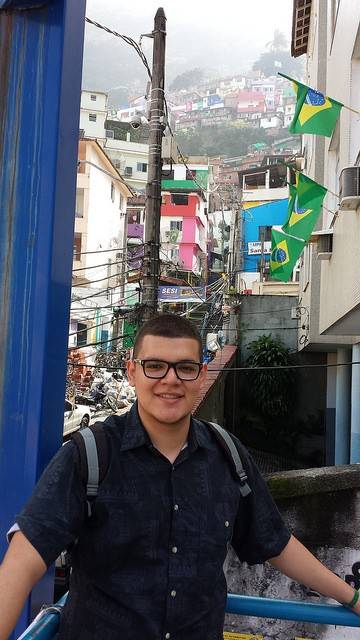 North Central College student Miguel Purgimon Colell, a junior economics and finance major from Lisle, spent three weeks in Brazil this summer researching public opinion about the economic impact of the FIFA World Cup soccer tournament.