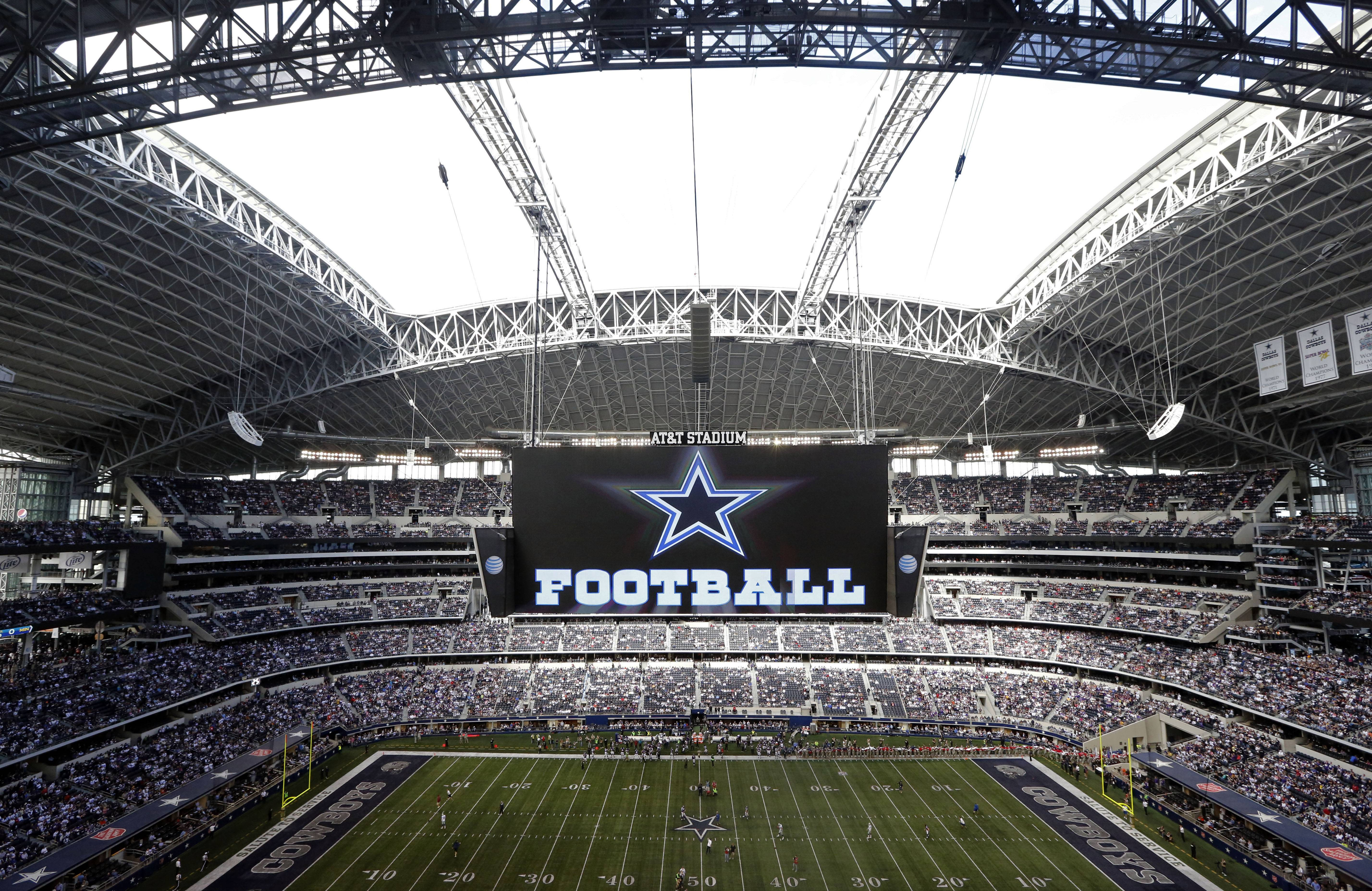 Forbes says the Dallas Cowboys are the first U.S. sports franchise to top $3 billion in value. For the eighth straight year, the Cowboys are worth the most of all 32 NFL franchises, valued at $3.2 billion.