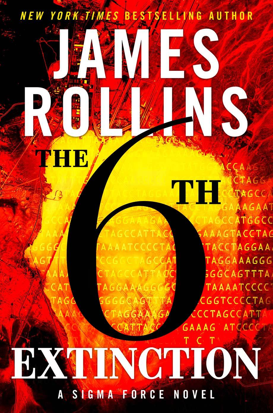 "James Rollins delivers more over-the-top action in ""The 6th Extinction."""