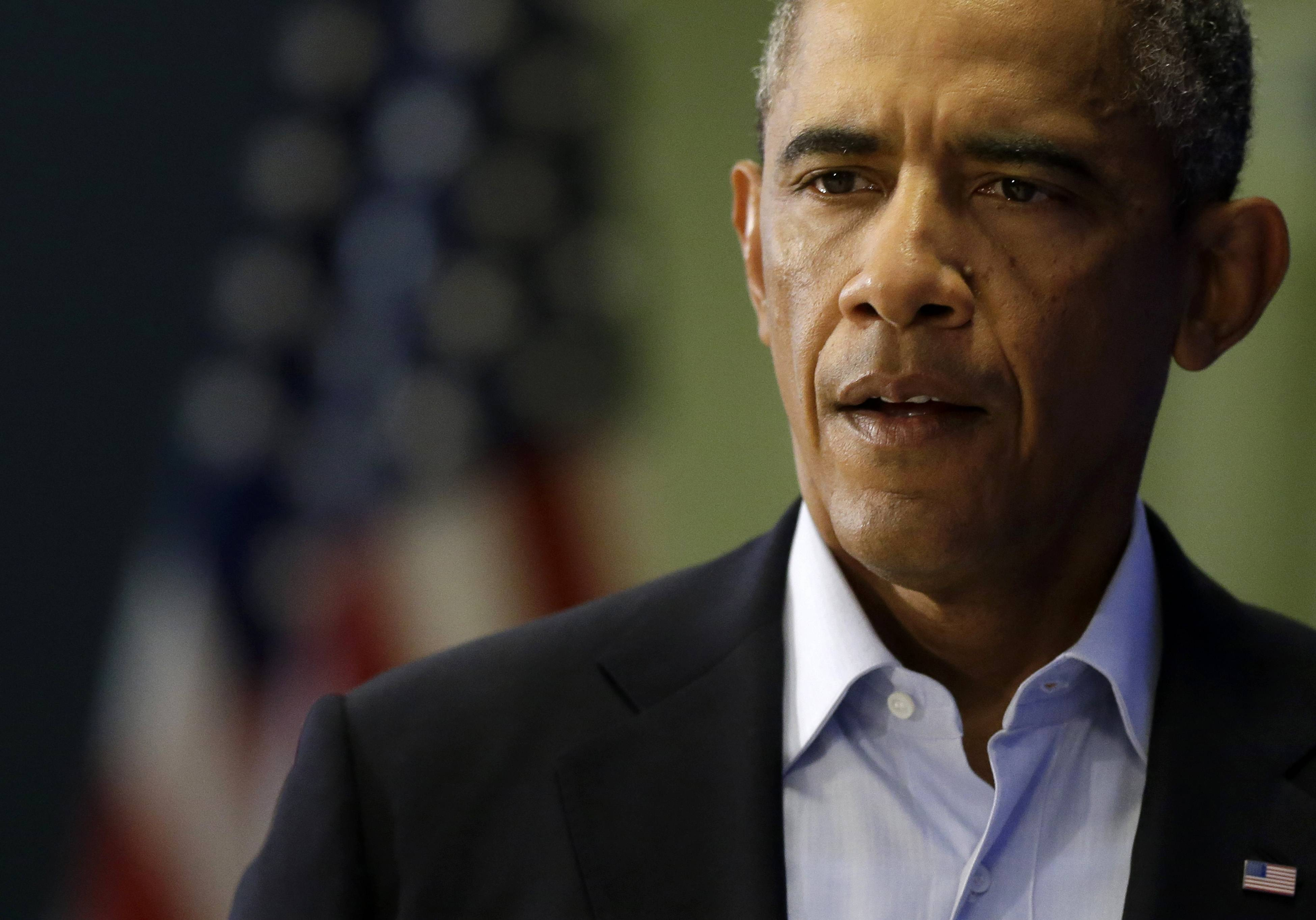 "President Barack Obama, speaking Wednesday in Edgartown, Mass., said the U.S. will continue to confront Islamic State extremists despite the brutal murder of journalist James Foley. Obama said the entire world is ""appalled"" by Foley's killing."