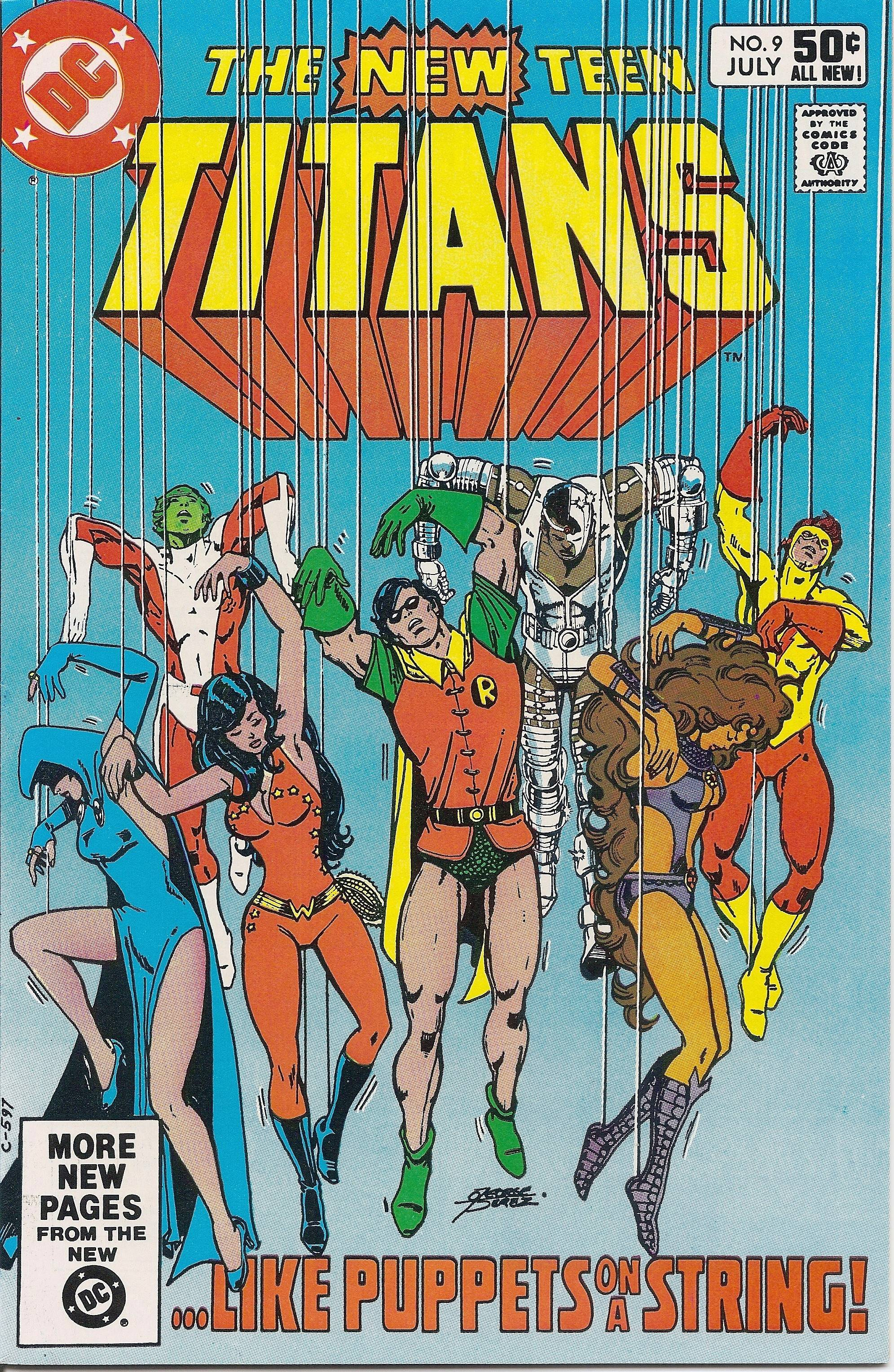 "Marv Wolfman's run on ""The New Teen Titans"" with artist George Perez was one of the signature superhero comics of the 1980s."