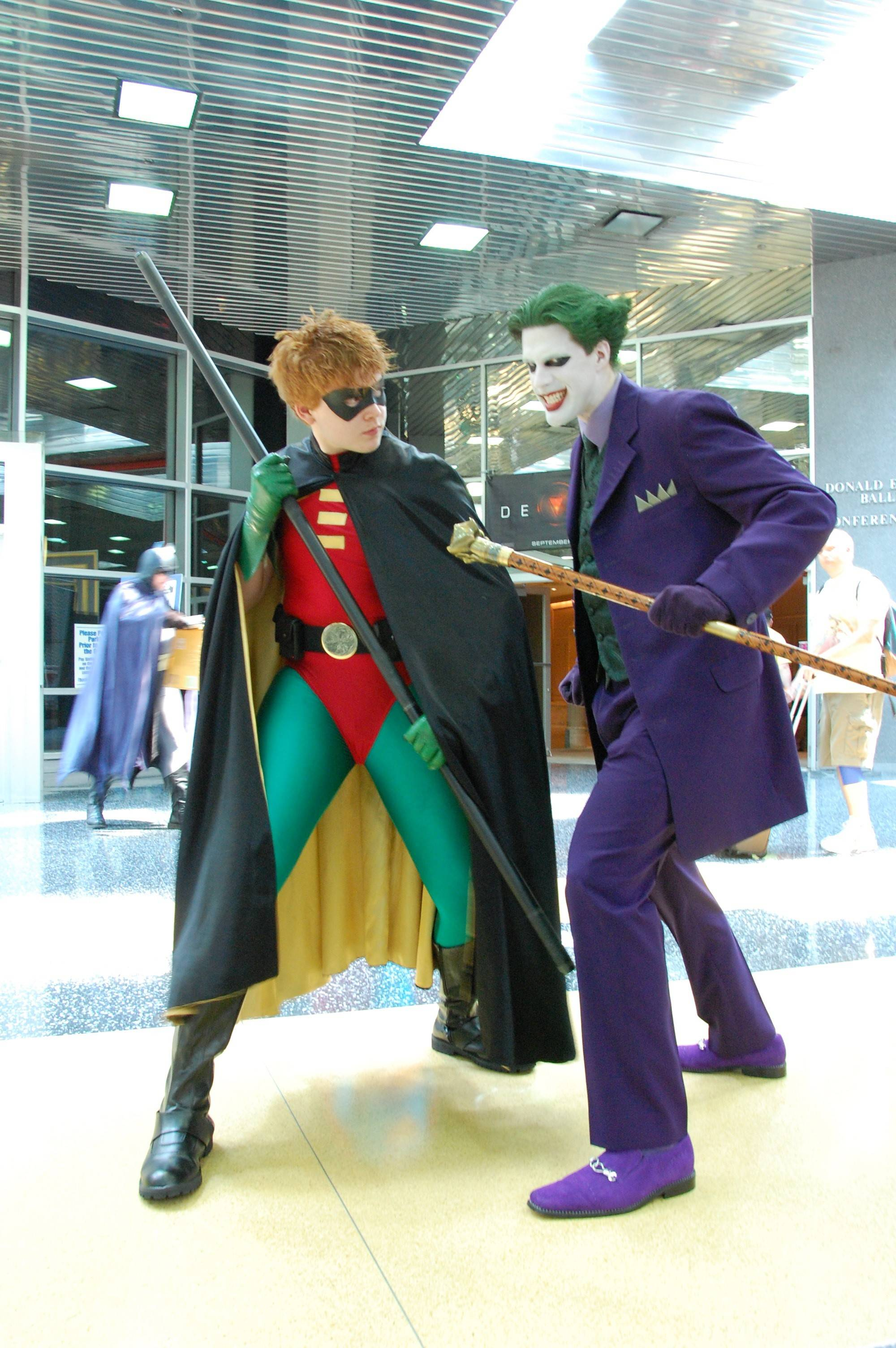 Fans like to dress up as their favorite comic-book and movie characters for Wizard World Chicago Comic Con.