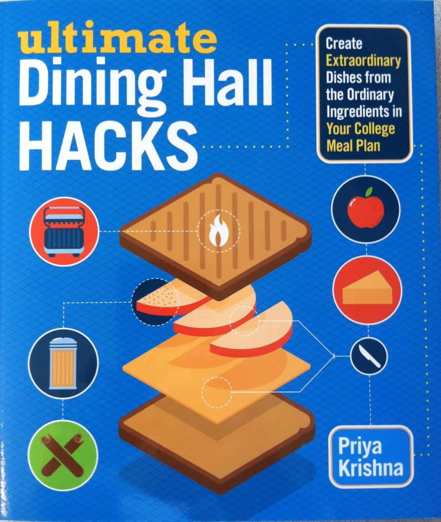 "In ""Ultimate Dining Hall Hacks"" author Priya Krishna shares ways to use common cafeteria foods to build interesting meals."