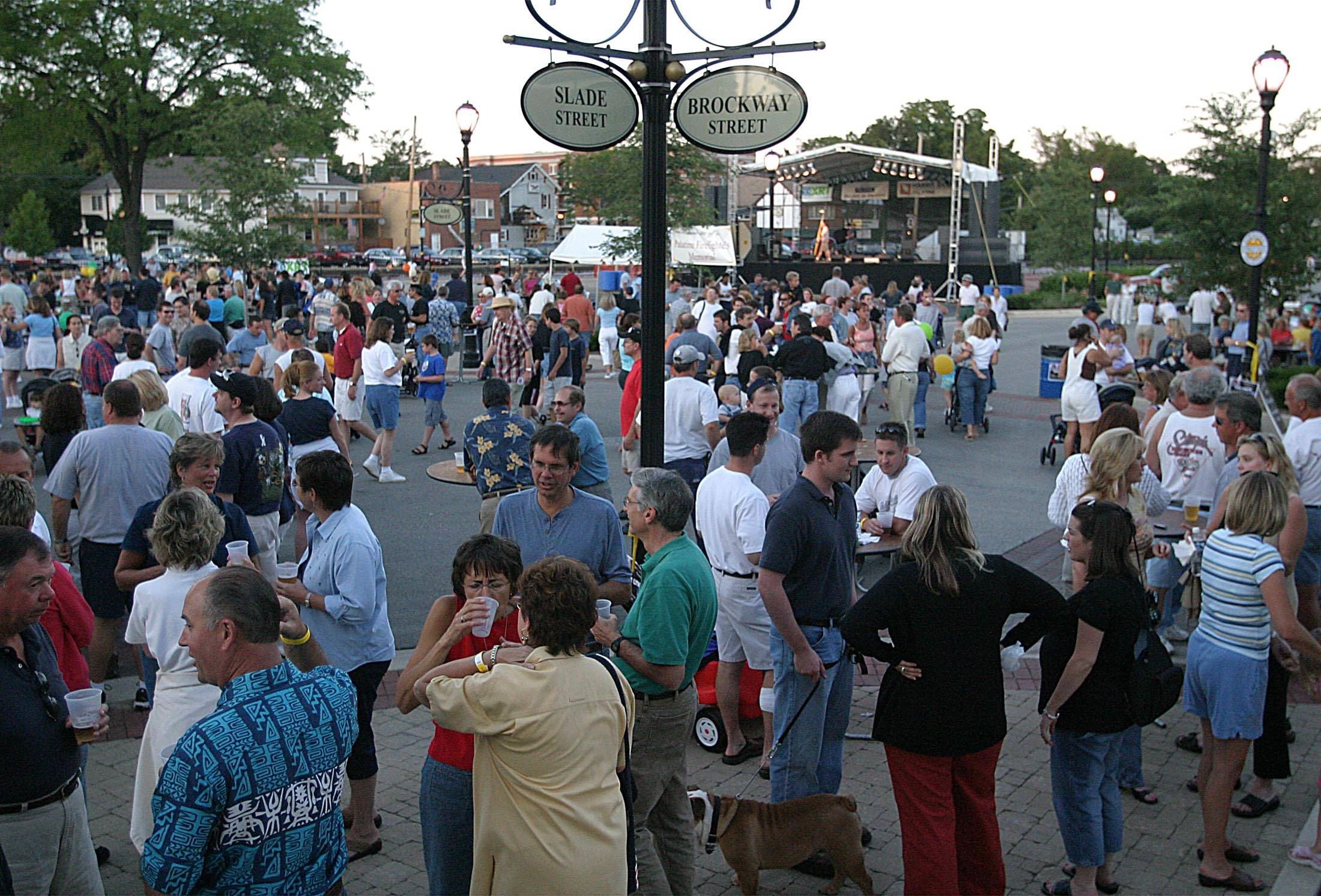 Crowds will again pack the heart of Palatine this weekend for the annual Downtown Palatine Street Fest. The annual event features live music from some of the suburbs' favorite local bands, food from several Palatine eateries and lots of games and activities for kids.