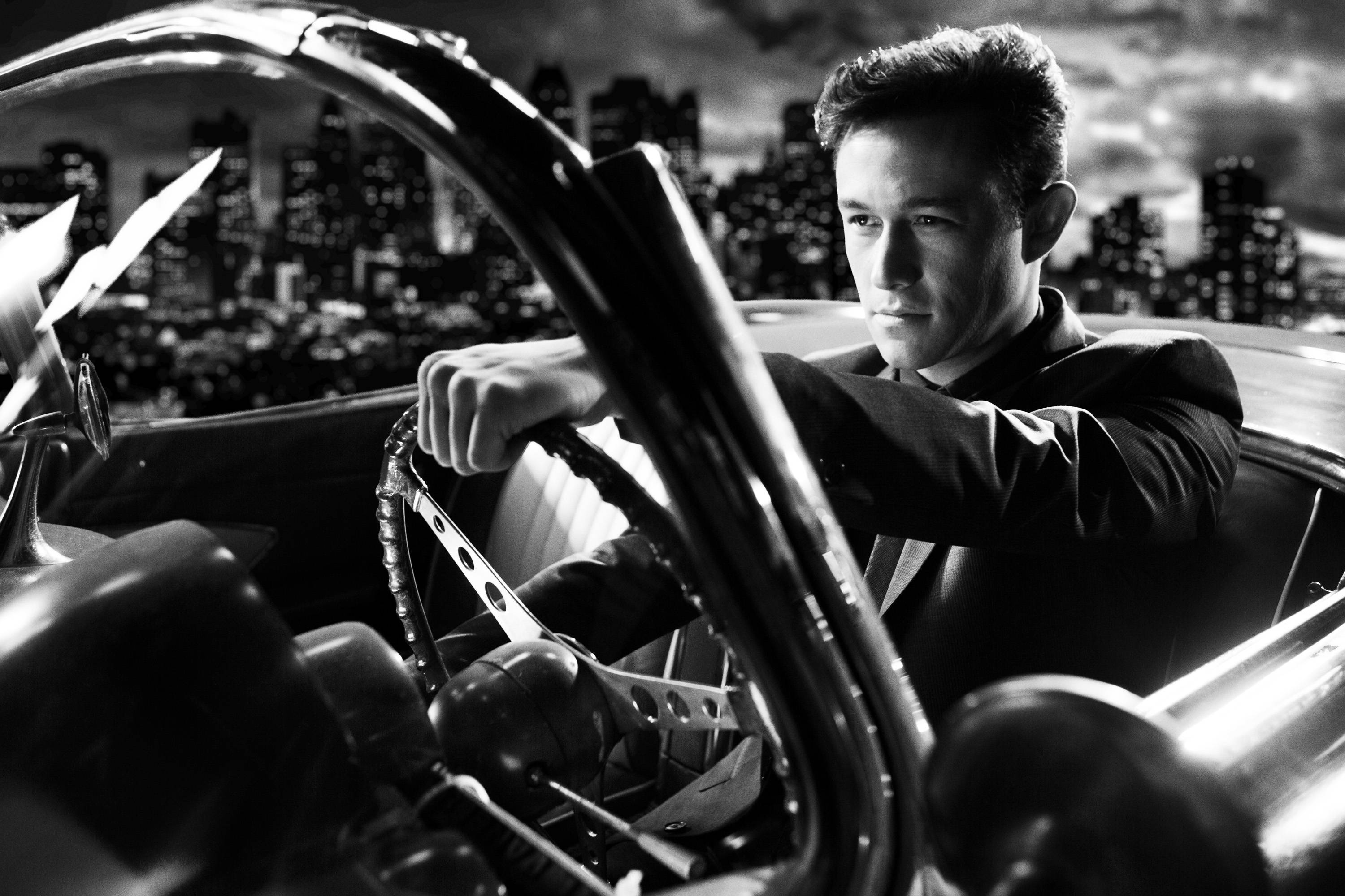 "Gambler Johnny (Joseph Gordon-Levitt) drives a hard bargain in the noiry action thriller ""Sin City: A Dame to Kill For."""