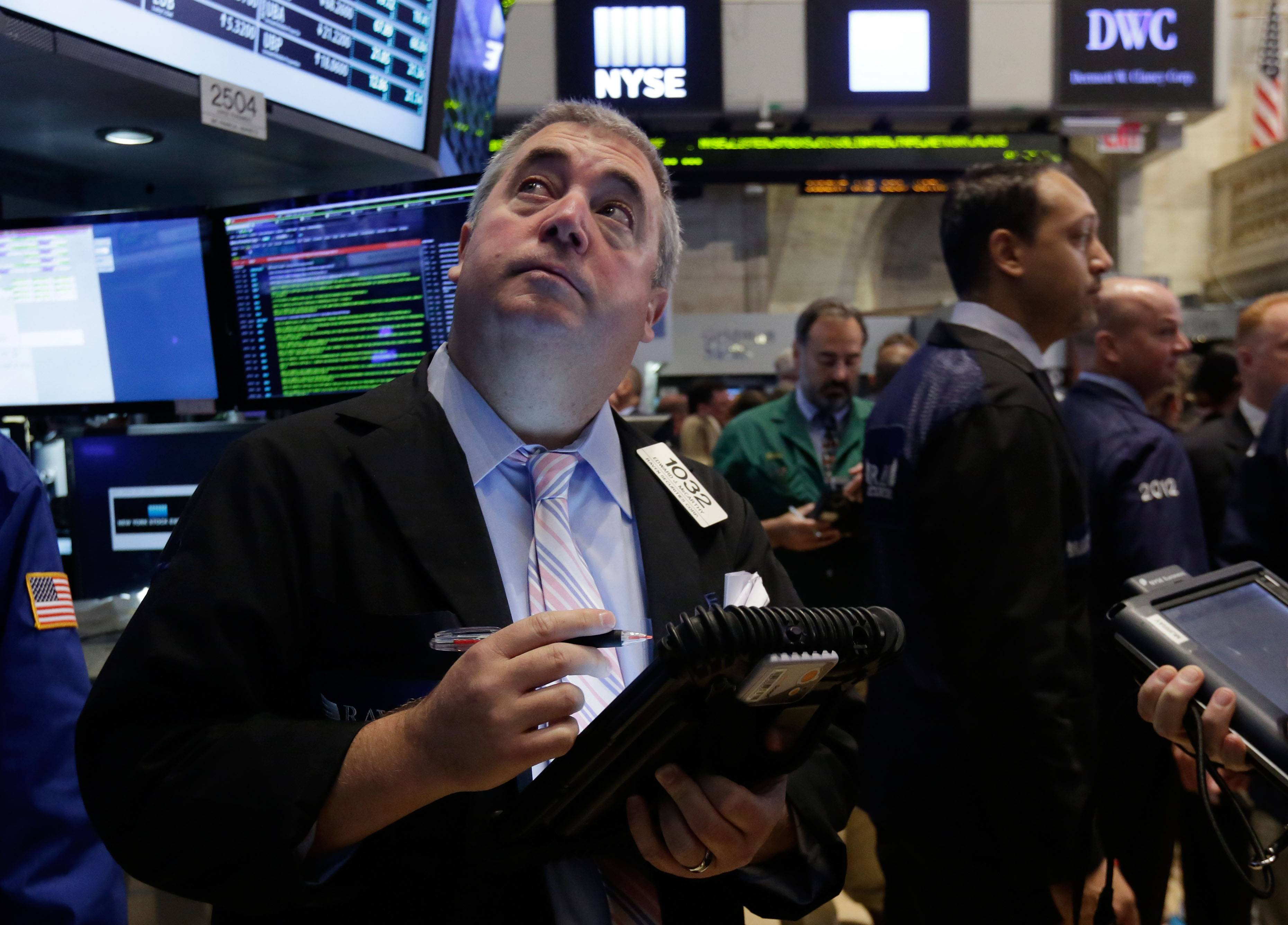 The stock market advanced for a fourth straight day Thursday, pushing the Standard & Poor's 500 index to a record high. Investors were encouraged by news that the number of people seeking unemployment benefits remains at a multi-year low.