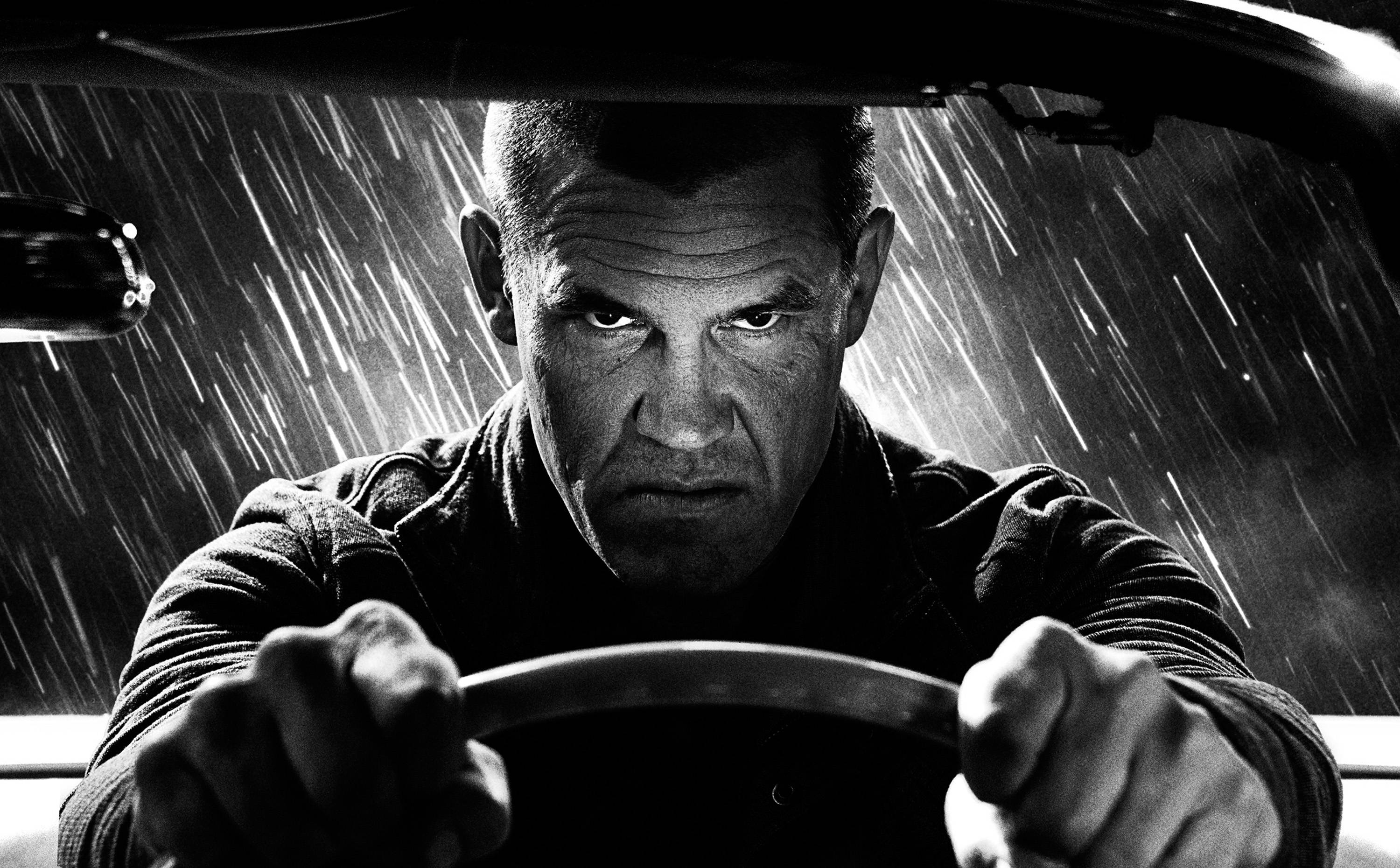 "Dwight (Josh Brolin) constantly reminds himself to contain the monster in ""Sin City: A Dame to Kill For."""