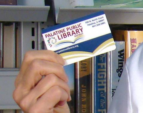 September is National Library Card Sign-up Month.Andrea Lublink