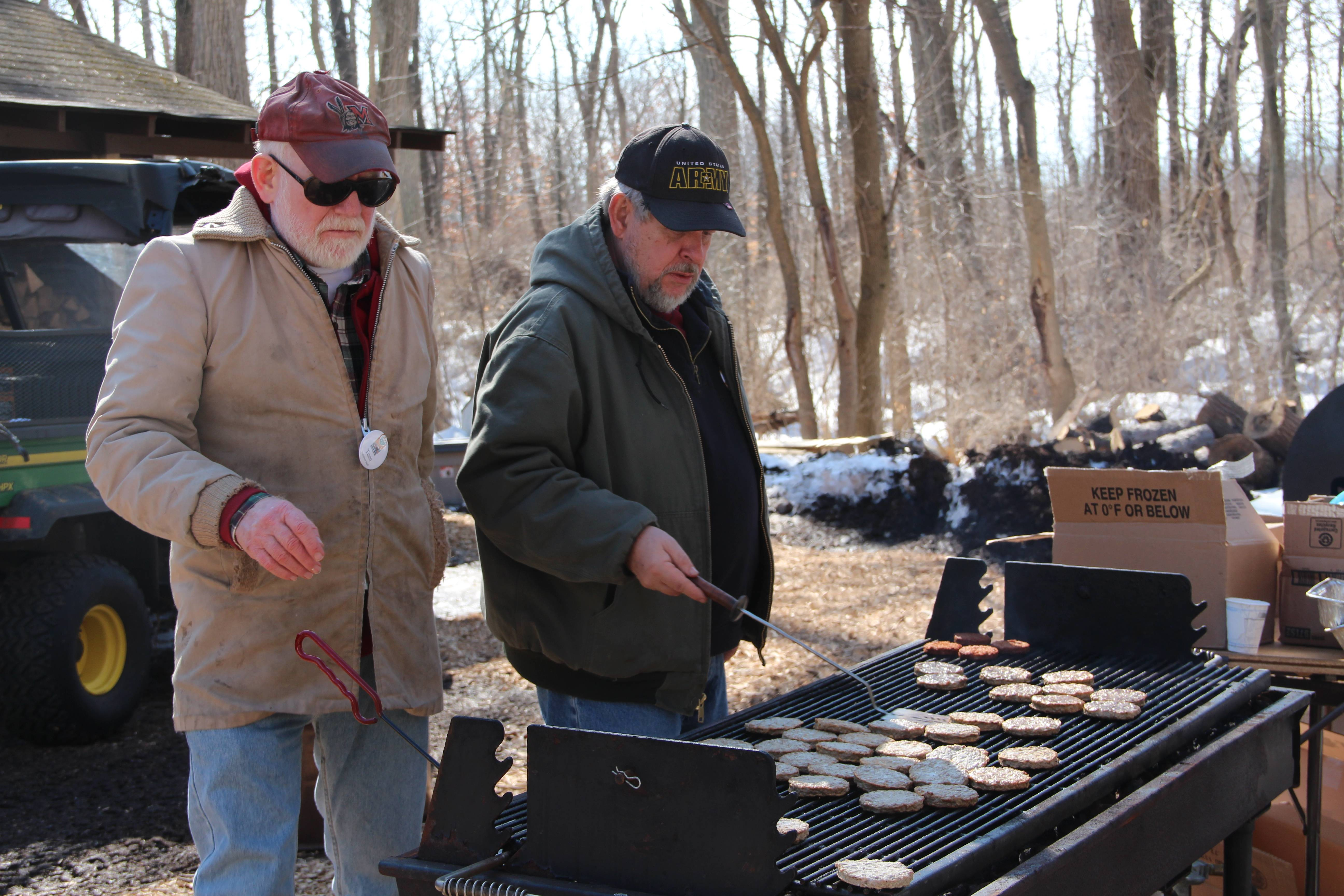 Volunteers have many opportunities to contribute to the Schaumburg Park District including flipping pancakes and sausage at the annual Sugar Bush Fair.Schaumburg Park District