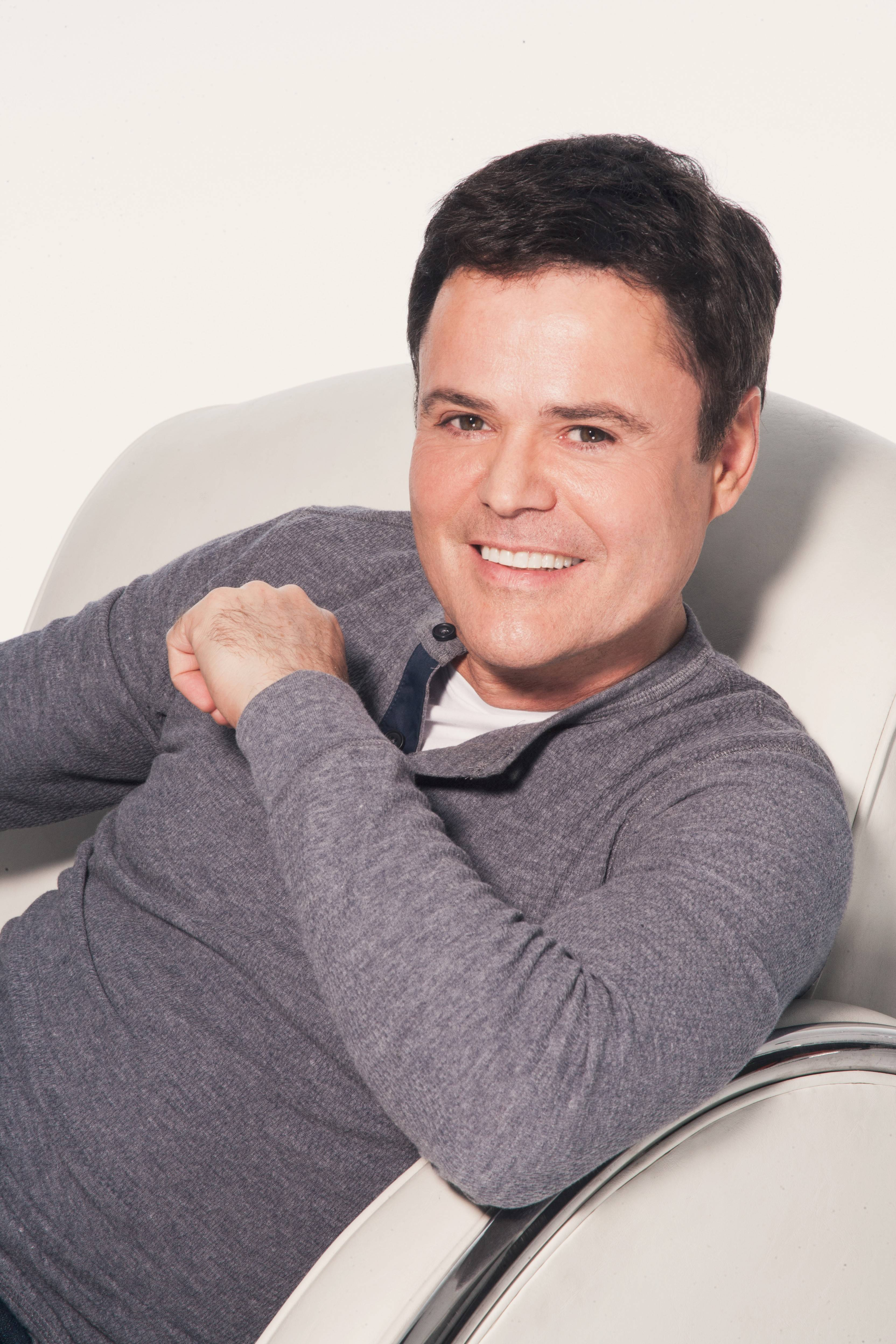 Donny Osmond will play seven shows at Aurora's Paramount Theatre with his sister Marie.