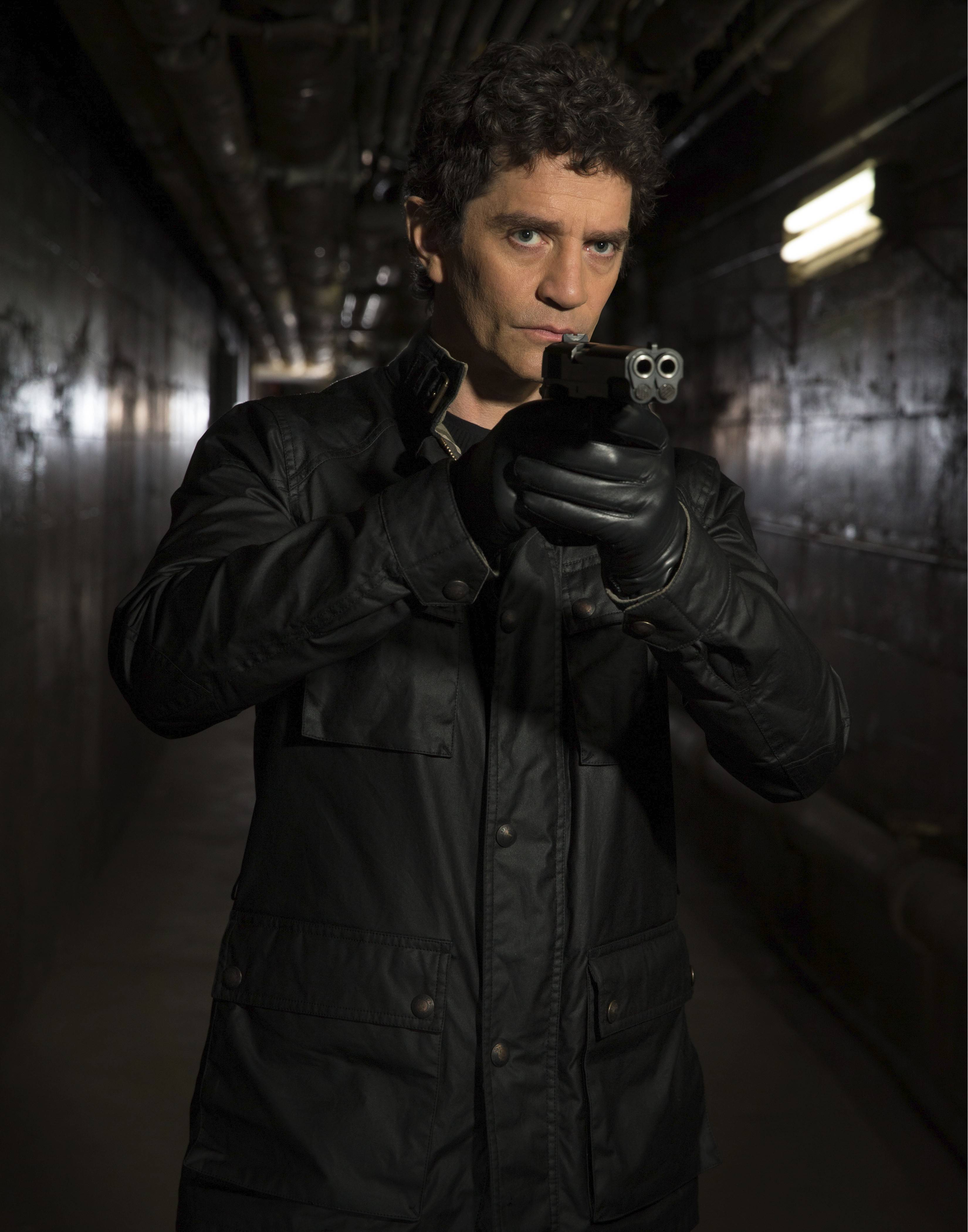 "James Frain plays a mysterious assassin in BBC America's ""Intruders,"" premiering Saturday, Aug. 23."