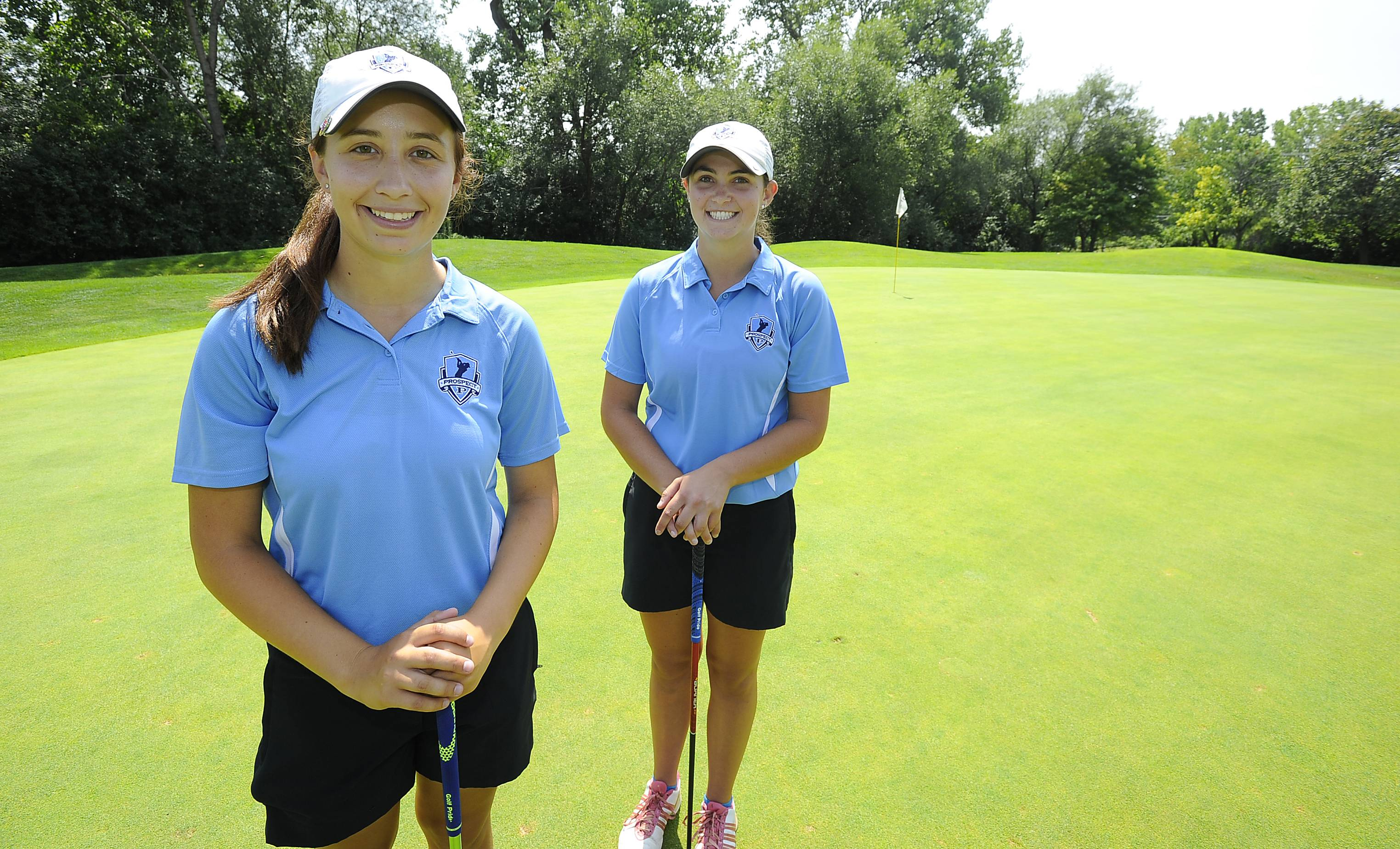 Prospect will count on Isabella Flack, left, and Kacie O'Donnell for leadership this fall.